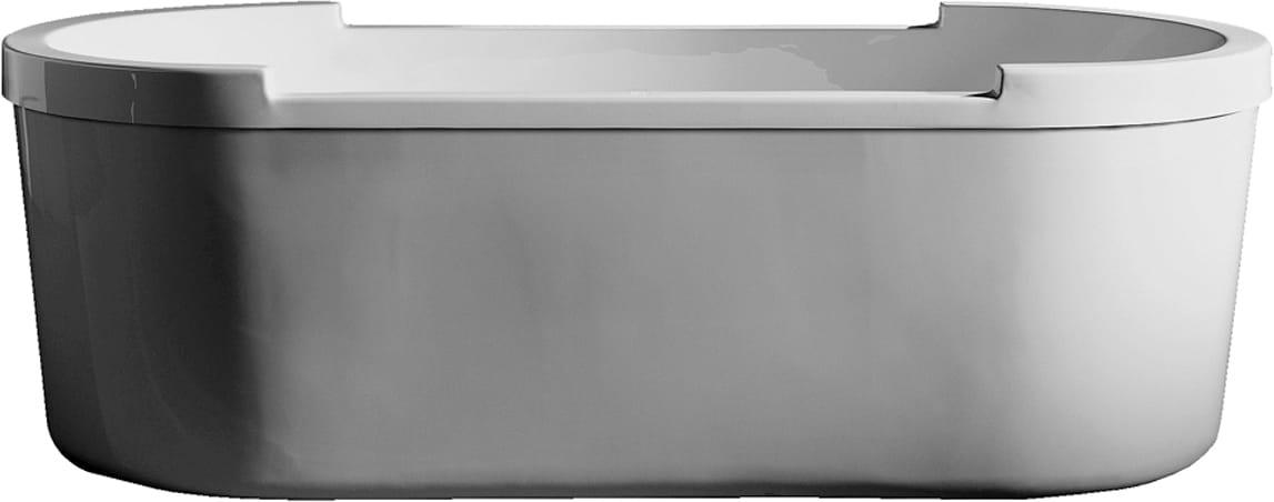 Duravit 700012000000090 White Freestanding Oval Sanitary Acrylic ...