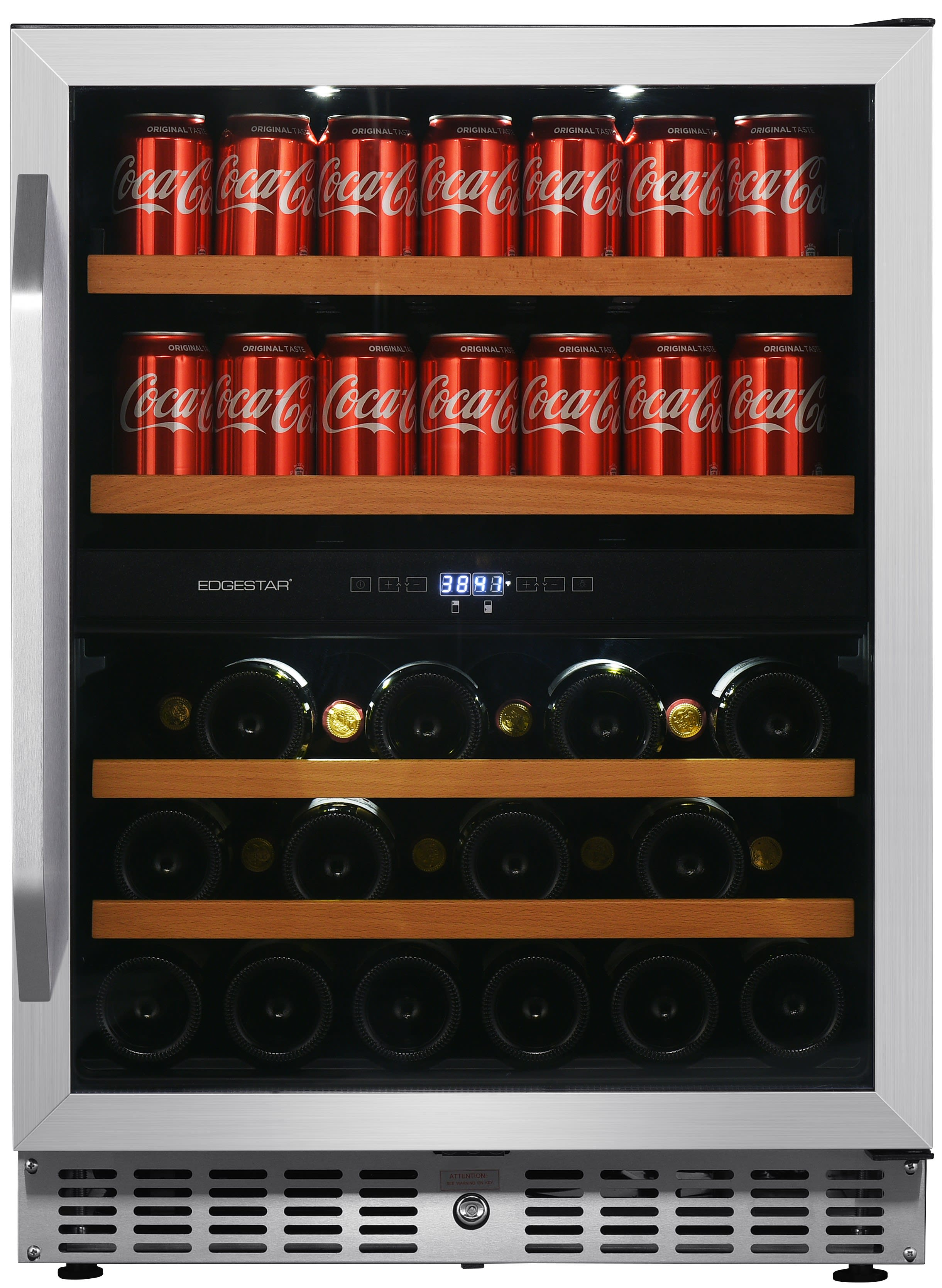 Edgestar 24 Inch Built In Wine And Beverage Cooler Cwb8420dz