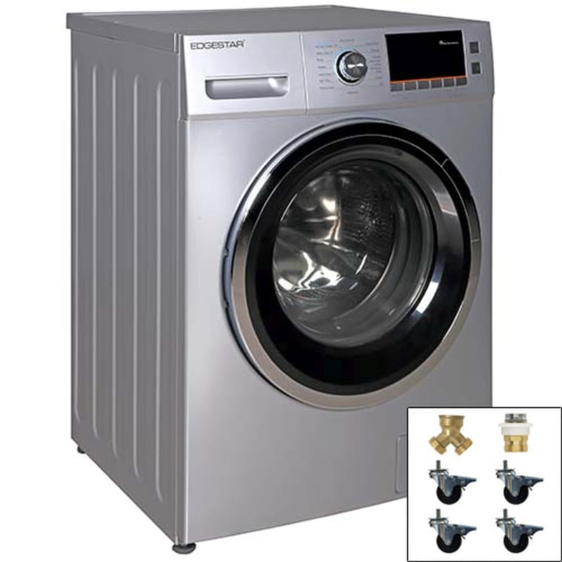 ft front loading electric washerdryer combo with