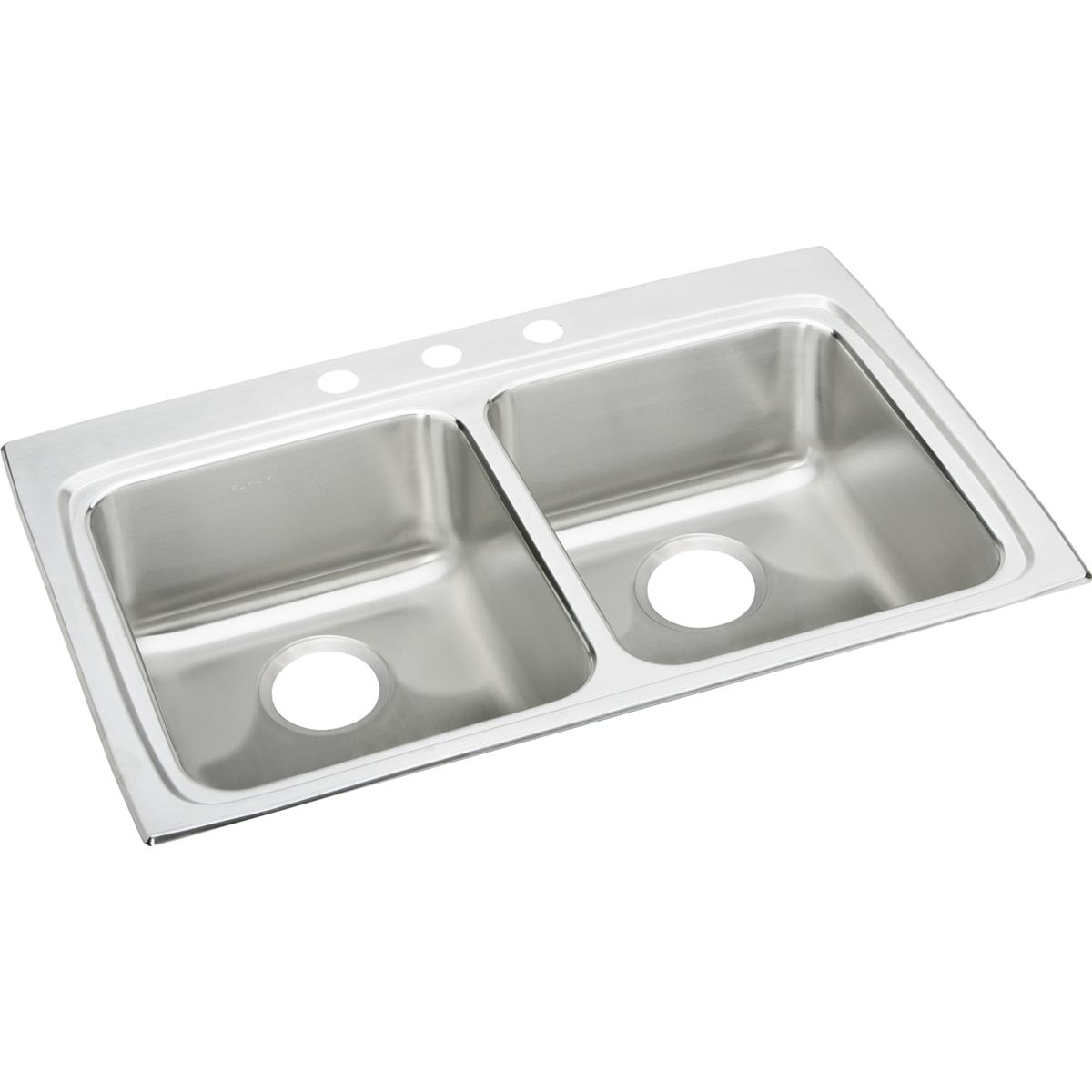 Elkay LRAD332250MR2 Sink Stainless Steel