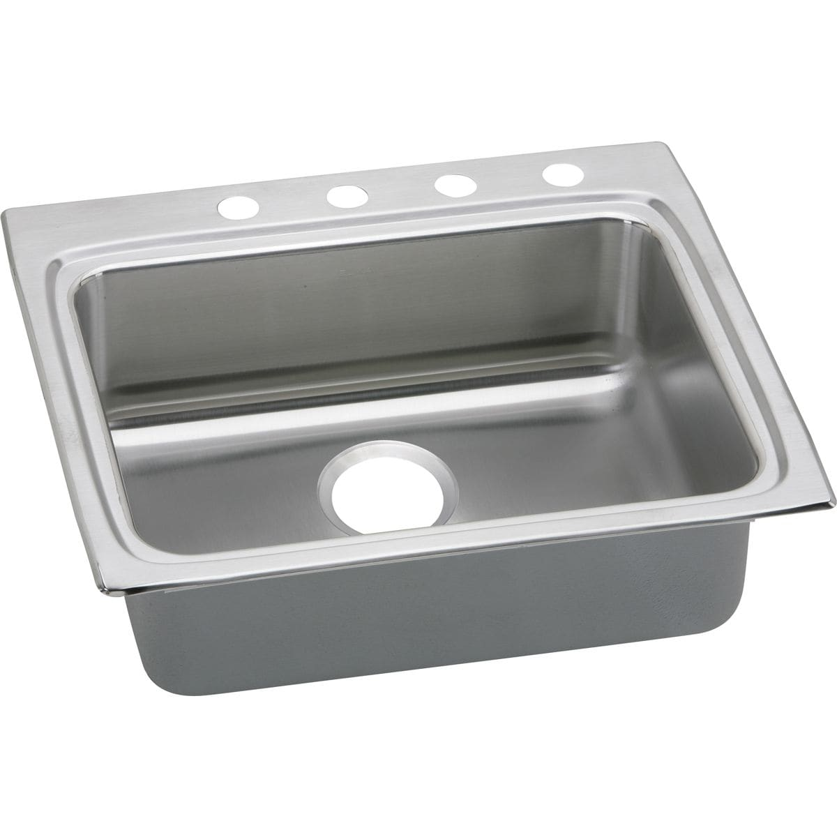 Silver Elkay Metal Faucet Handle with Square Mounting Hole 2-6 Length