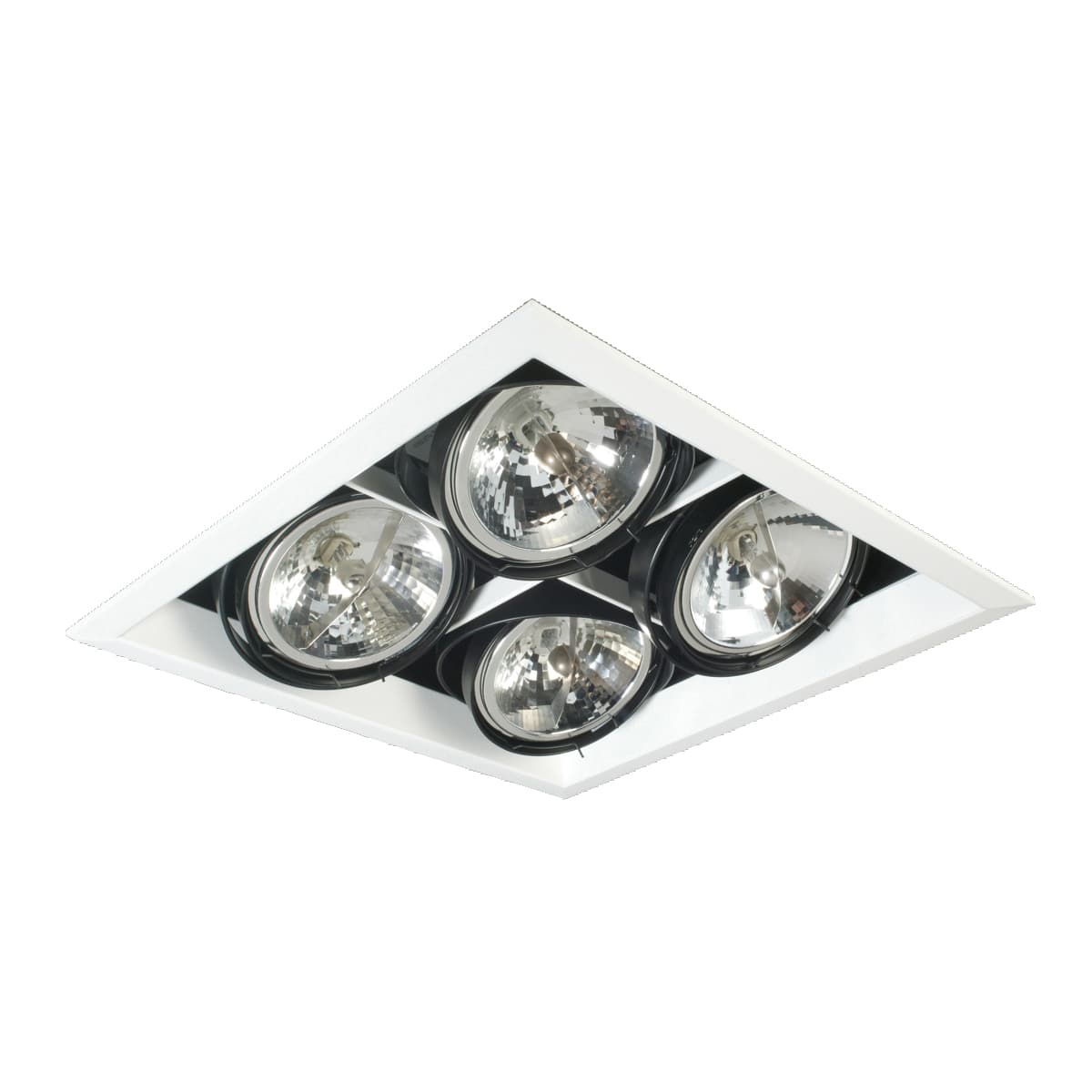 Eurofase lighting te104b 02 4 light 13 1 2 wide adjustable square recessed trim