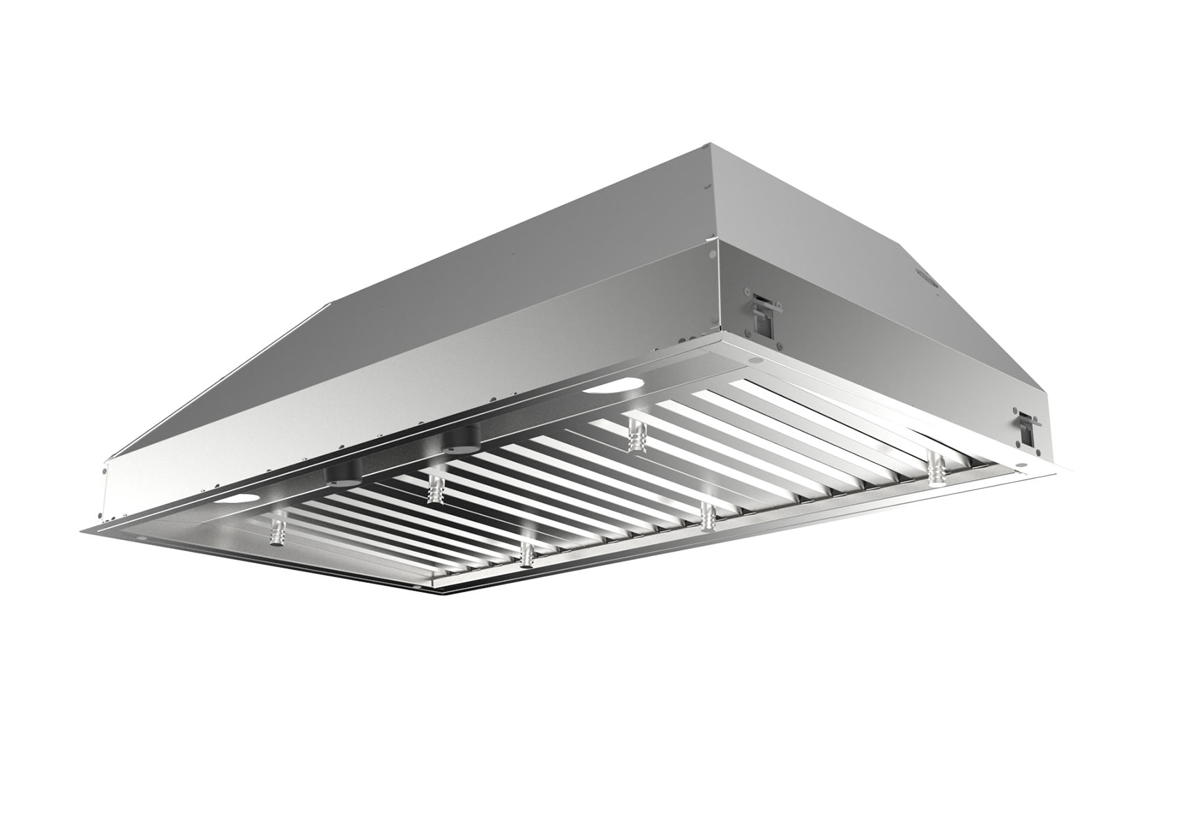 Faber Inpl4219ssnb B Stainless Steel Inca Pro Plus 42 Inch Wide Insert Range Hood Ventingdirect Com