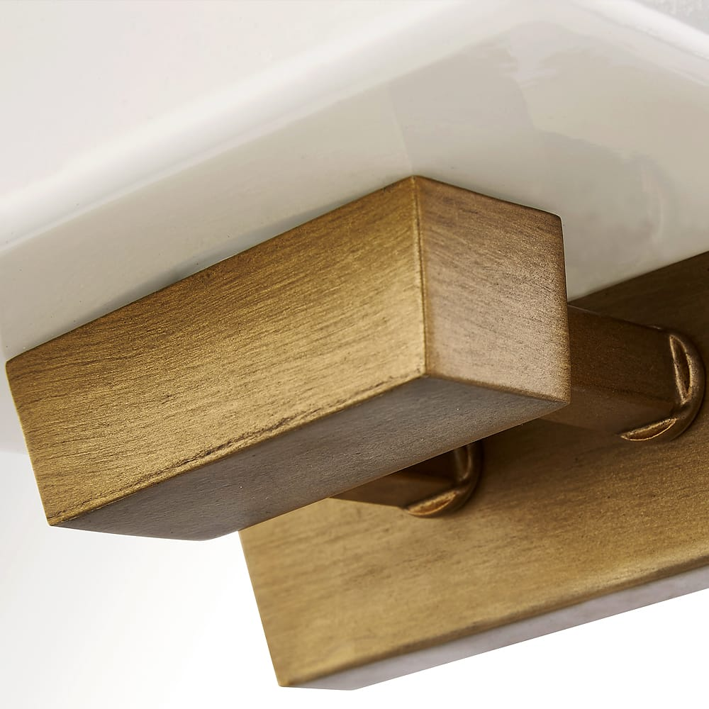 Fifth And Main Undefined Antique Gold Loire Single Light 6 Wide Bathroom Sconce Lightingdirect Com