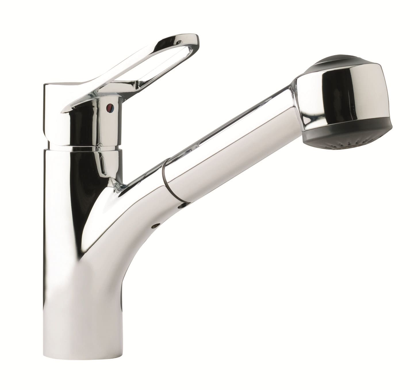 Franke Kitchen Faucets Franke Ffps200 Chrome Pullout Spray Kitchen Faucet Faucetcom