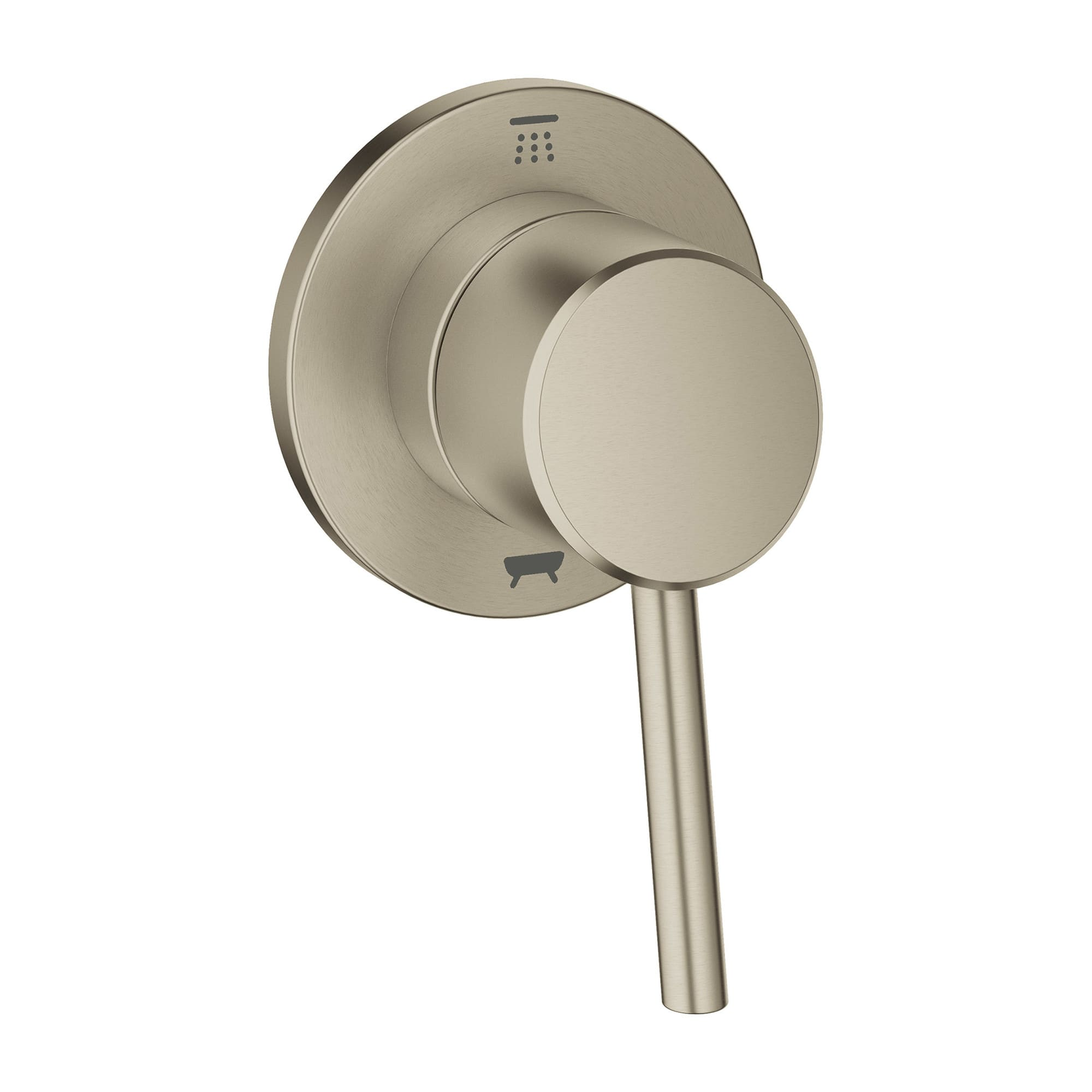 3 Way Shower Diverter Valve Brushed Nickel.Grohe 29 106