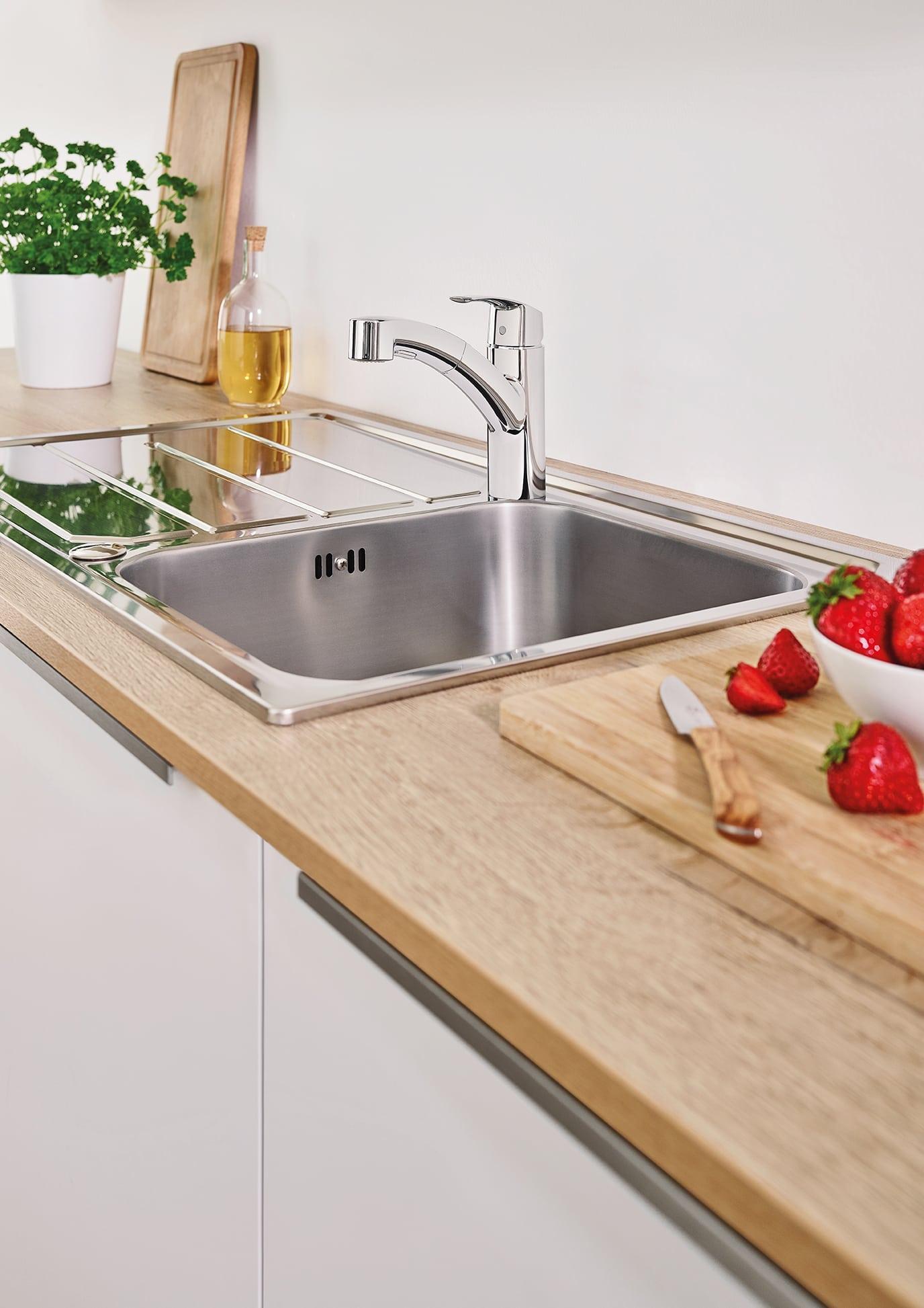 grohe kitchen sink