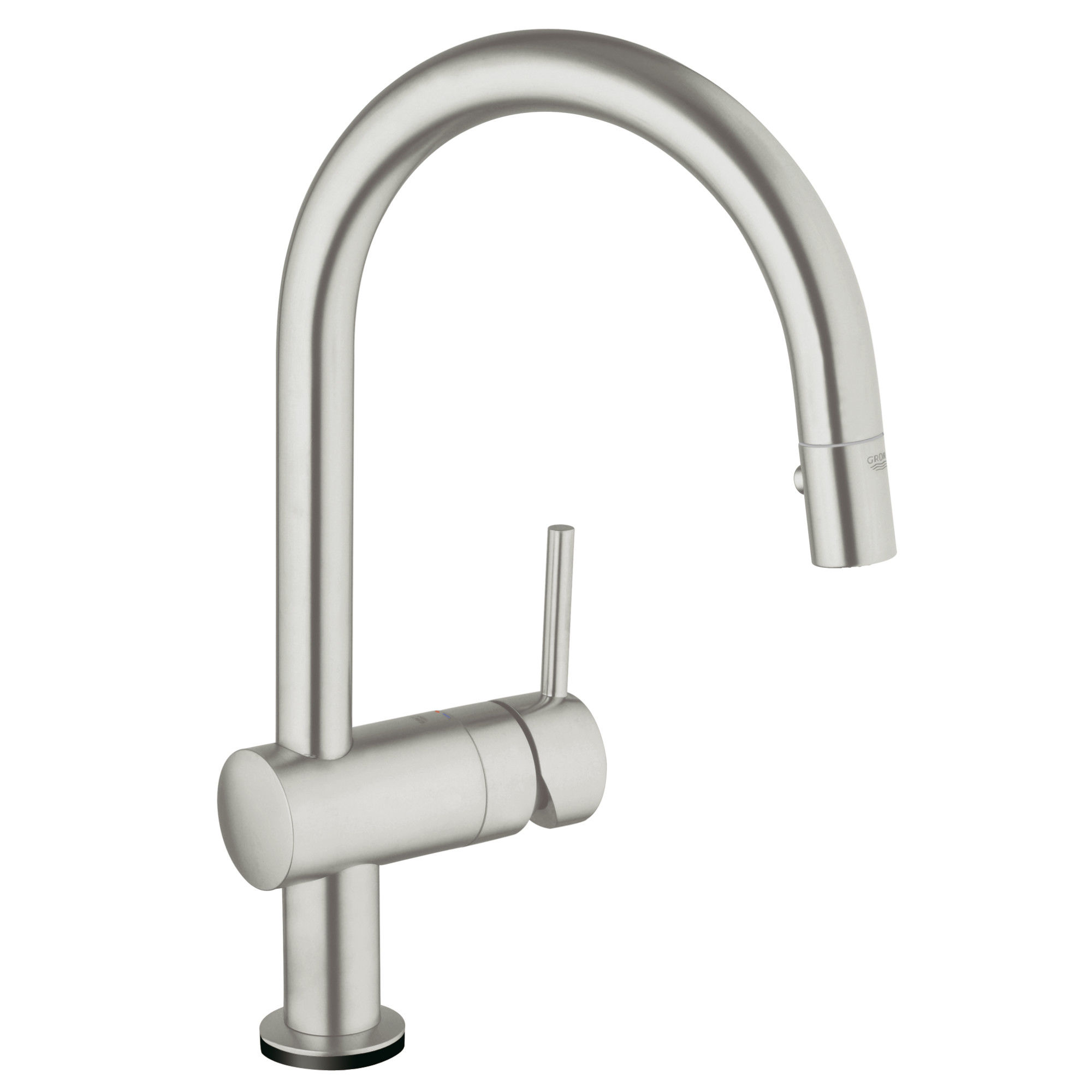 with handle improvement grohe faucet silkmove single concetto home faucets kitchen pdx parts wayfair reviews