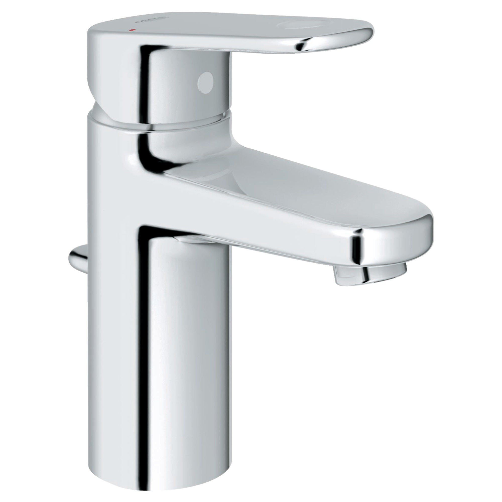 Grohe 3317000A Starlight Chrome Europlus 1.2 GPM Single Hole ...