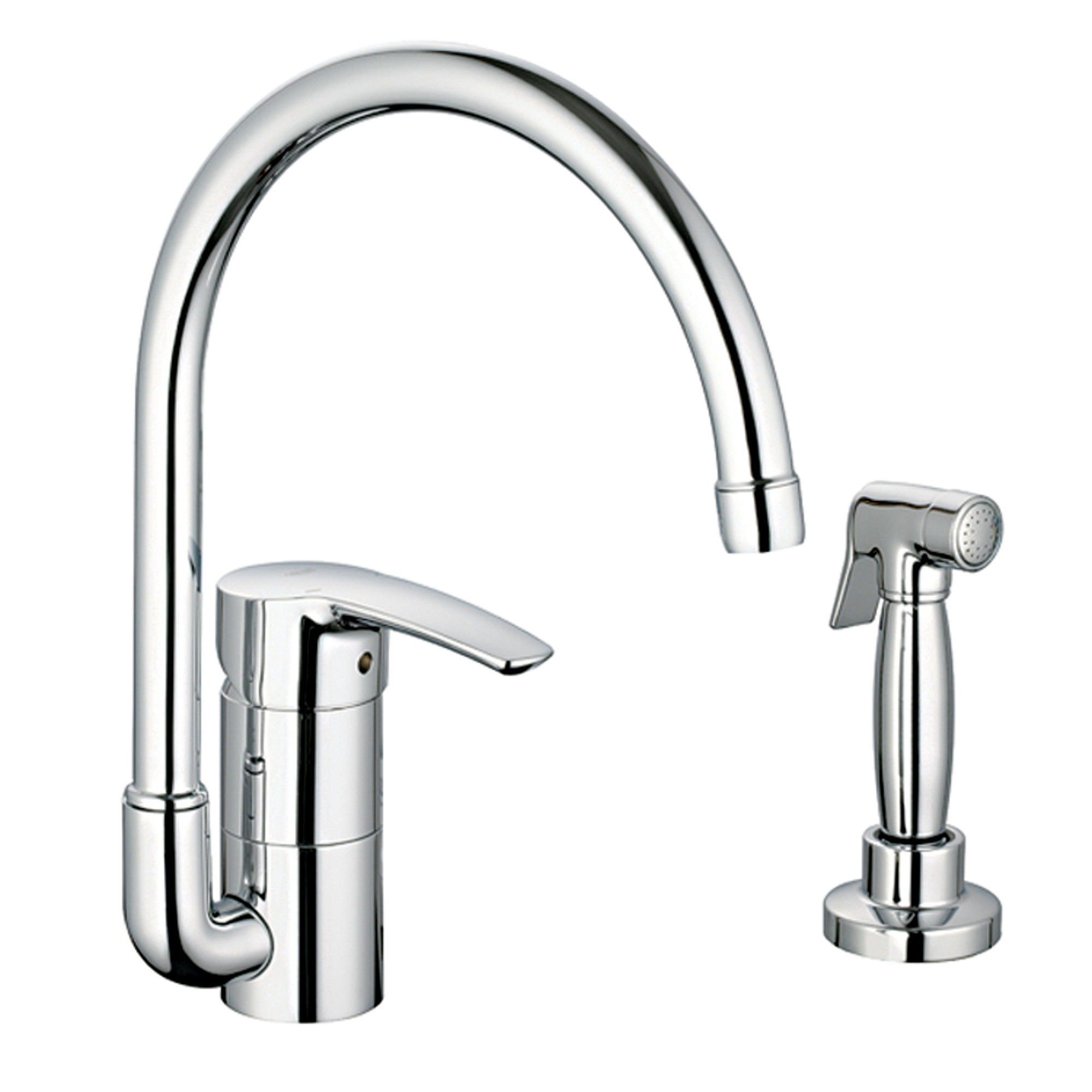 Grohe 33980EN1 Brushed Nickel Eurostyle Kitchen Faucet - Includes ...