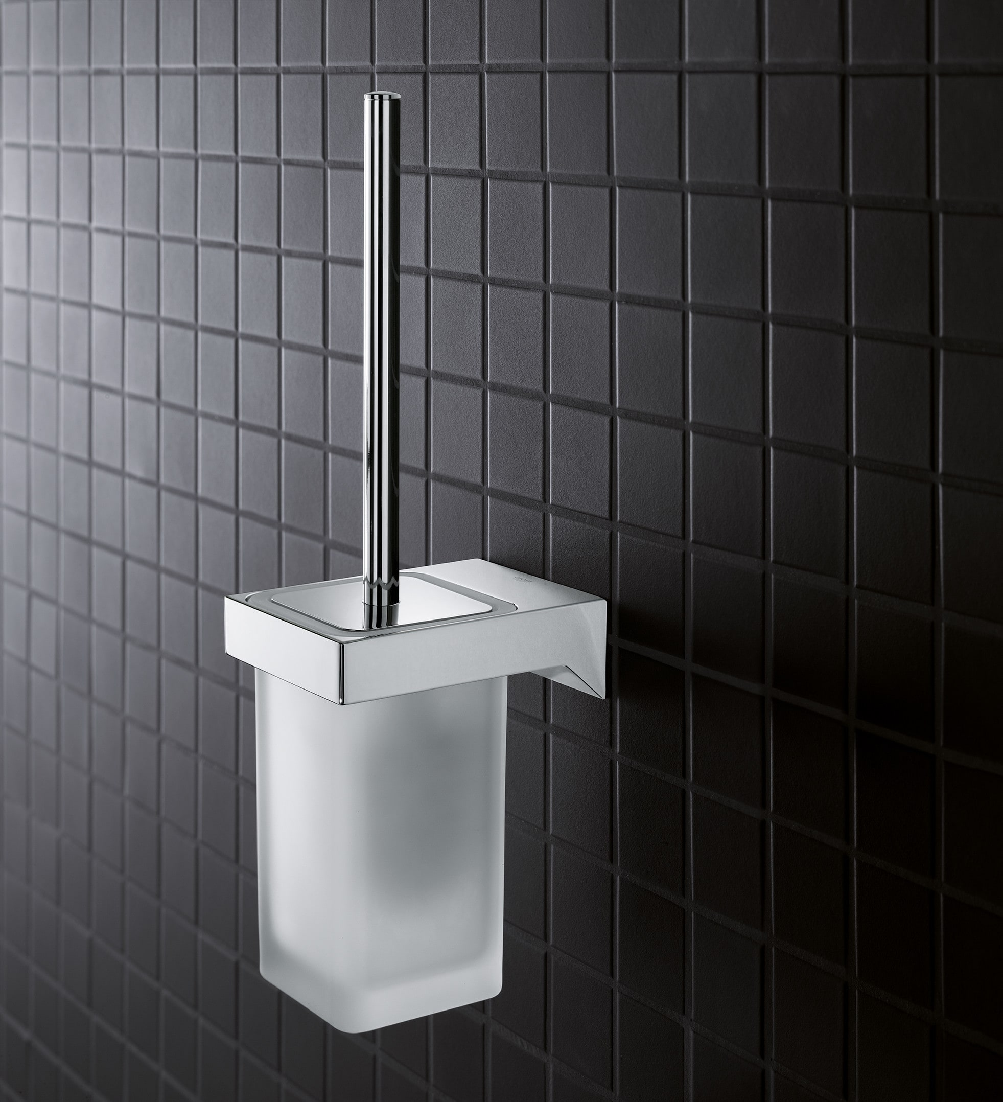 Grohe 40857000 Starlight Chrome Selection Cube Wall Mounted Toilet ...