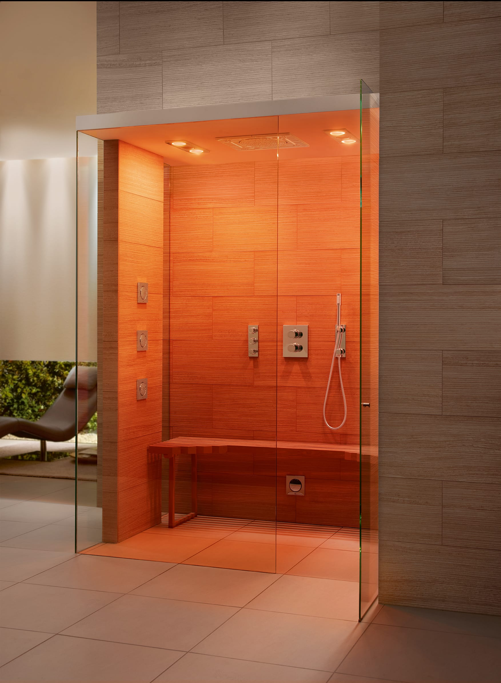 Grohe F-Digital 350 CF Steam Shower Starlight Chrome F-Digital ...