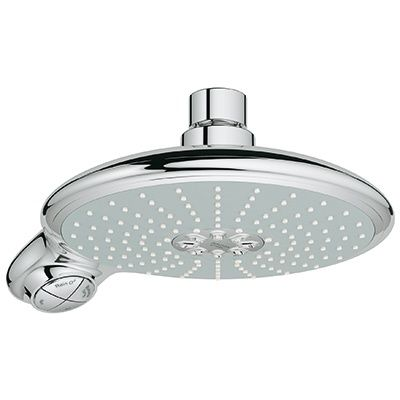gr shower head grohe rain installation removal fixed and arm