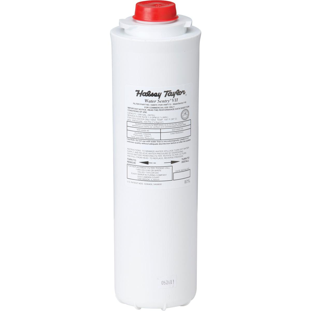 Halsey Taylor 55898C/_12pk WaterSentry Plus Replacement Filter Bottle Fillers 12-Pack