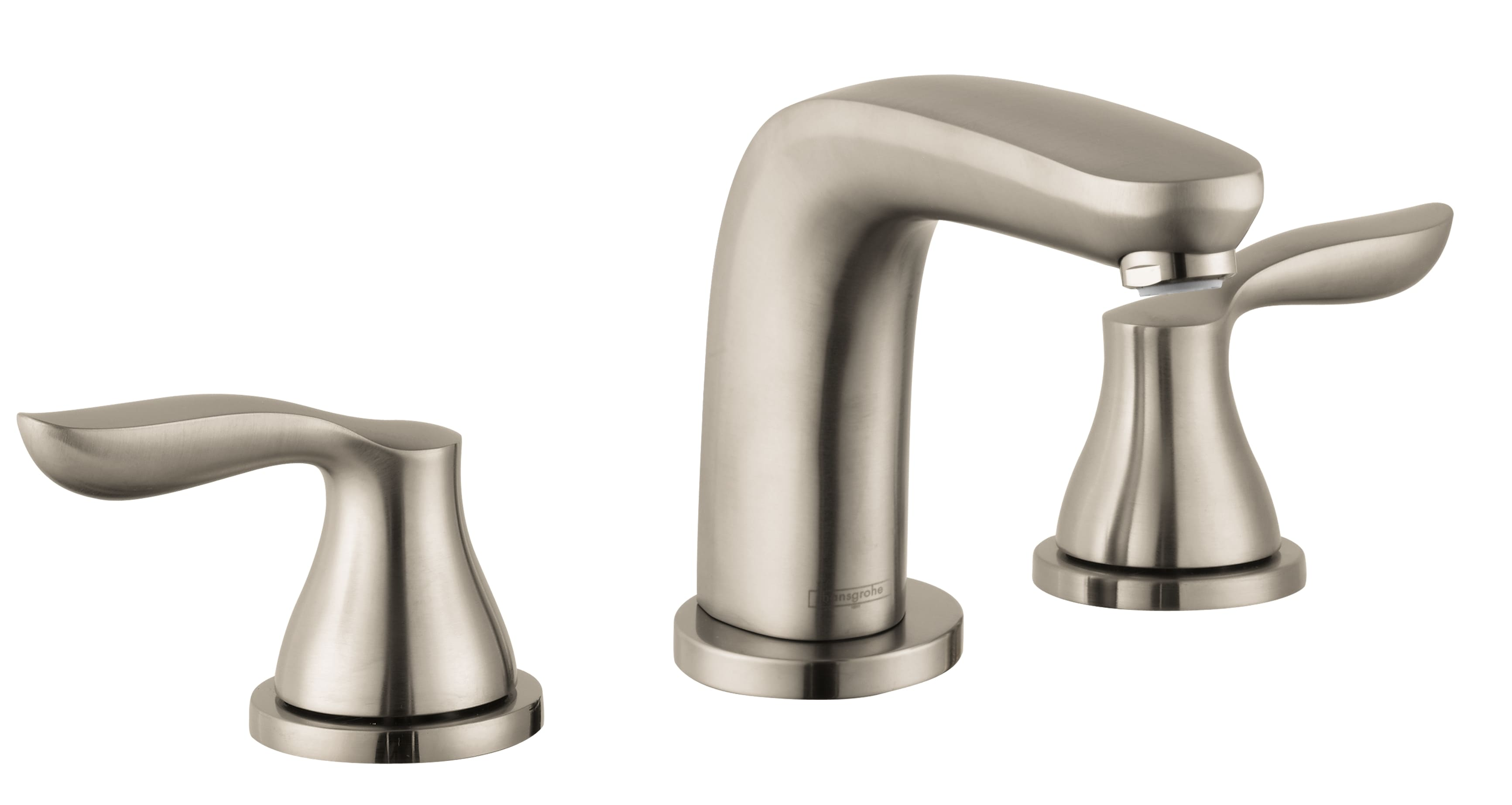 Hansgrohe 04170820 Brushed Nickel Solaris E Roman Tub Filler Faucet ...