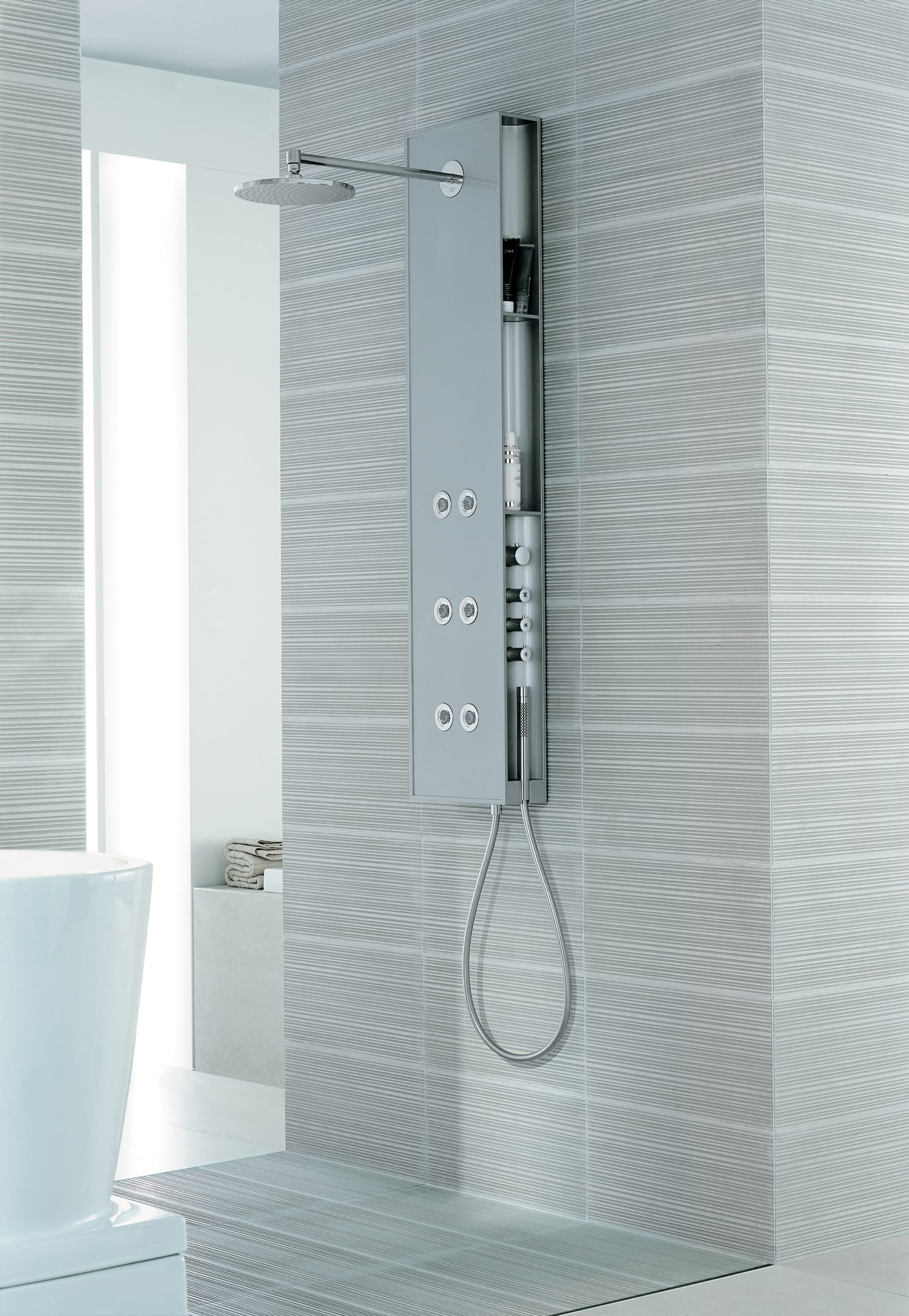 Hansgrohe 10920001 Chrome Axor Starck X Shower Panel with ...