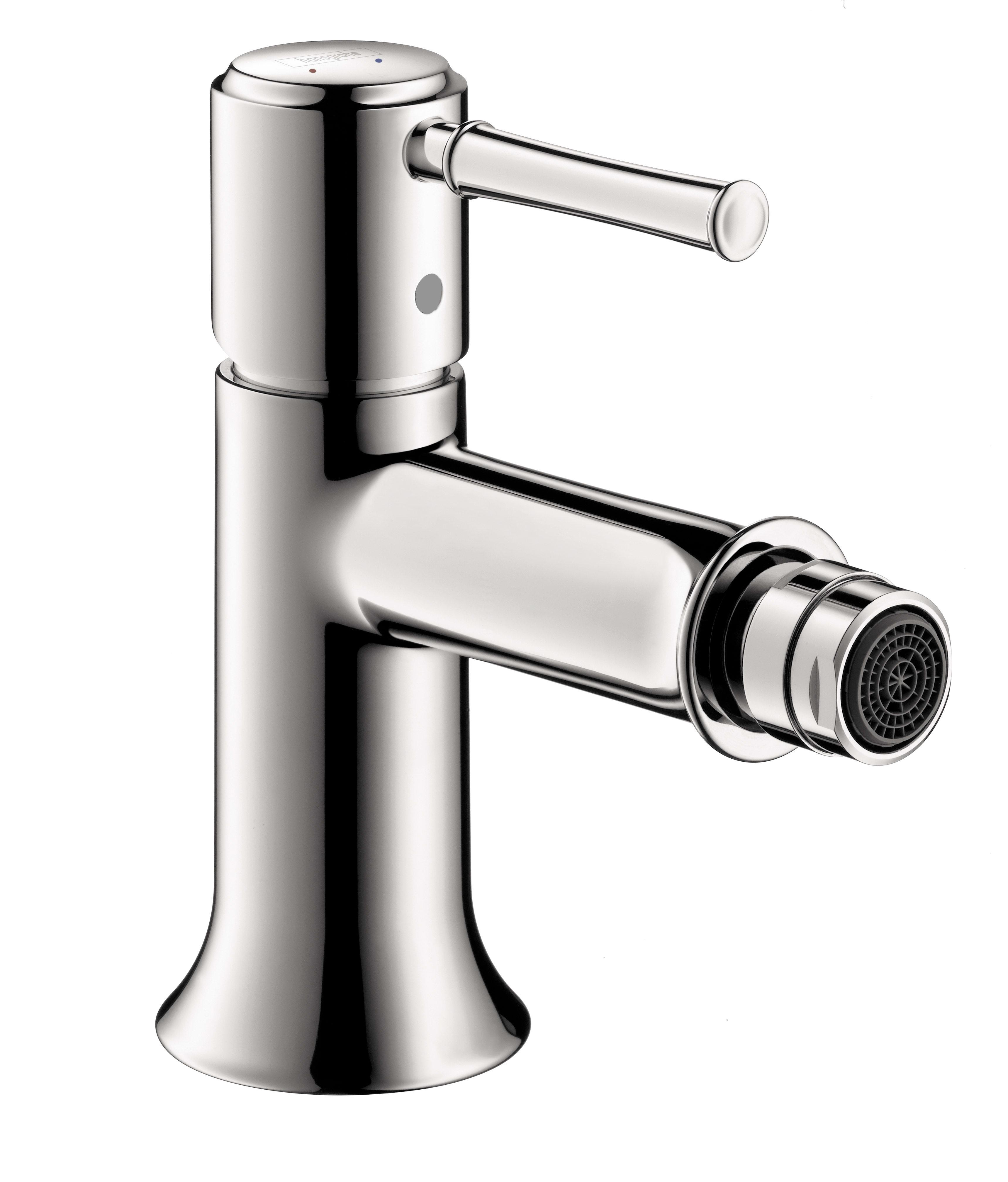 Hansgrohe 14120001 Chrome Talis C 2.2 GPM Bidet Faucet - Pop-Up ...