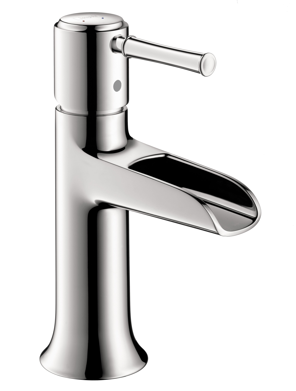 Hansgrohe 14127001 Chrome Talis C 1.2 GPM Single Hole Bathroom ...