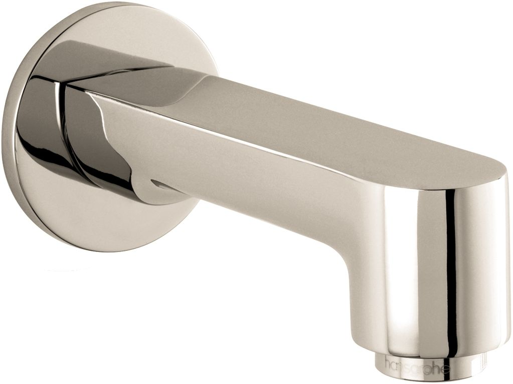 Hansgrohe 14413001 Chrome S Tub Spout Wall Mounted Non Diverter ...