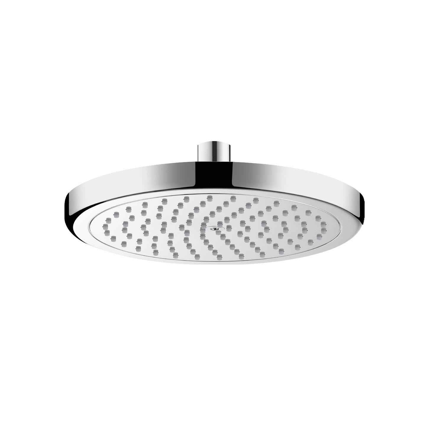 Hansgrohe 26465001 Chrome Croma Rain 2.5 GPM Shower Head - Faucet.com