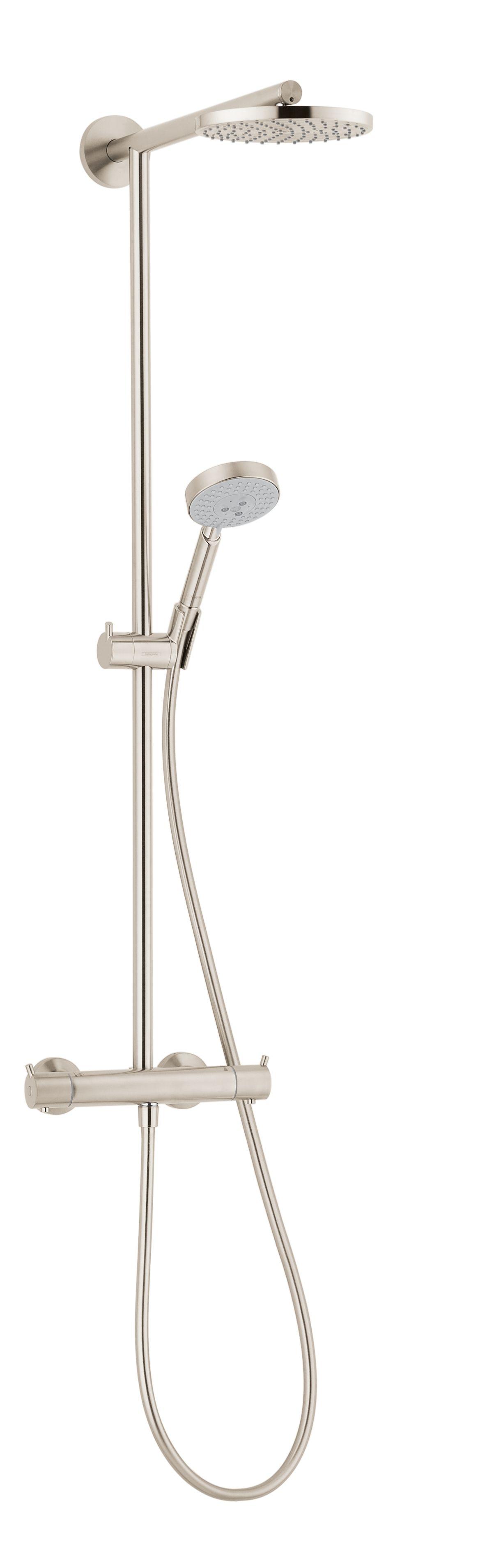 Hansgrohe 27165821 Brushed Nickel Raindance Showerpipe Shower System ...