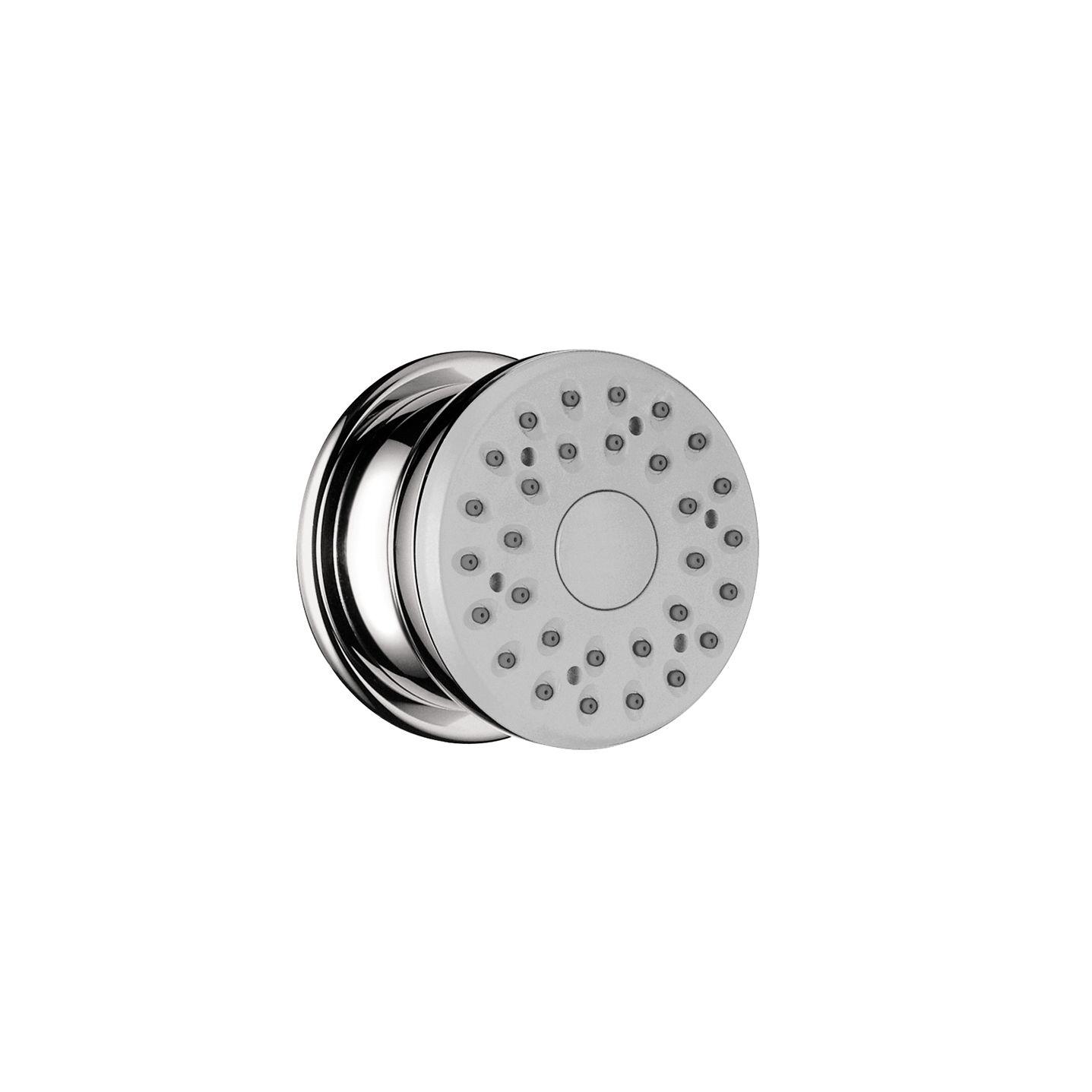 Hansgrohe 28467821 Brushed Nickel ShowerPower Body Spray Adjustable ...