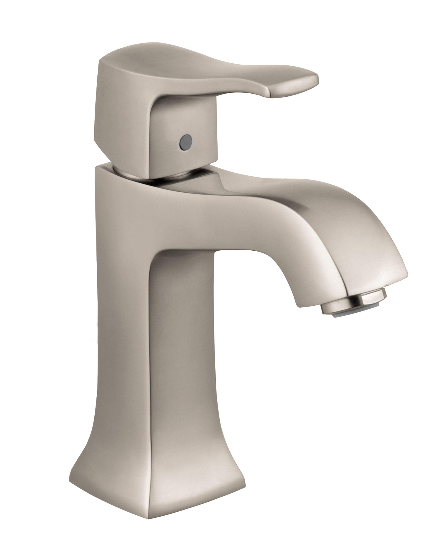 Hansgrohe 31075821 Brushed Nickel Metris C 1.2 Single Hole Bathroom ...