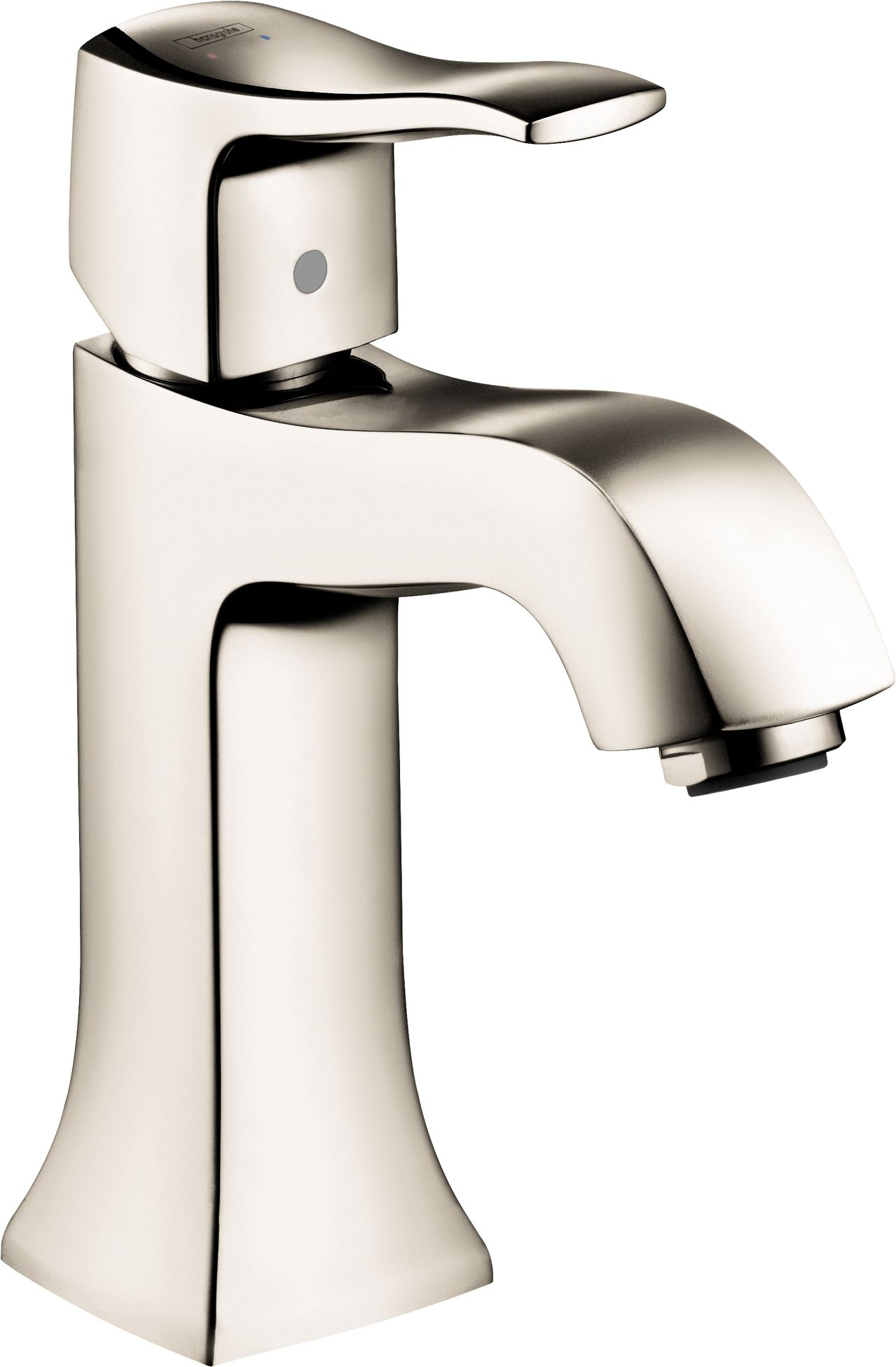 Hansgrohe 31075001 Chrome Metris C 1.2 Single Hole Bathroom Faucet ...
