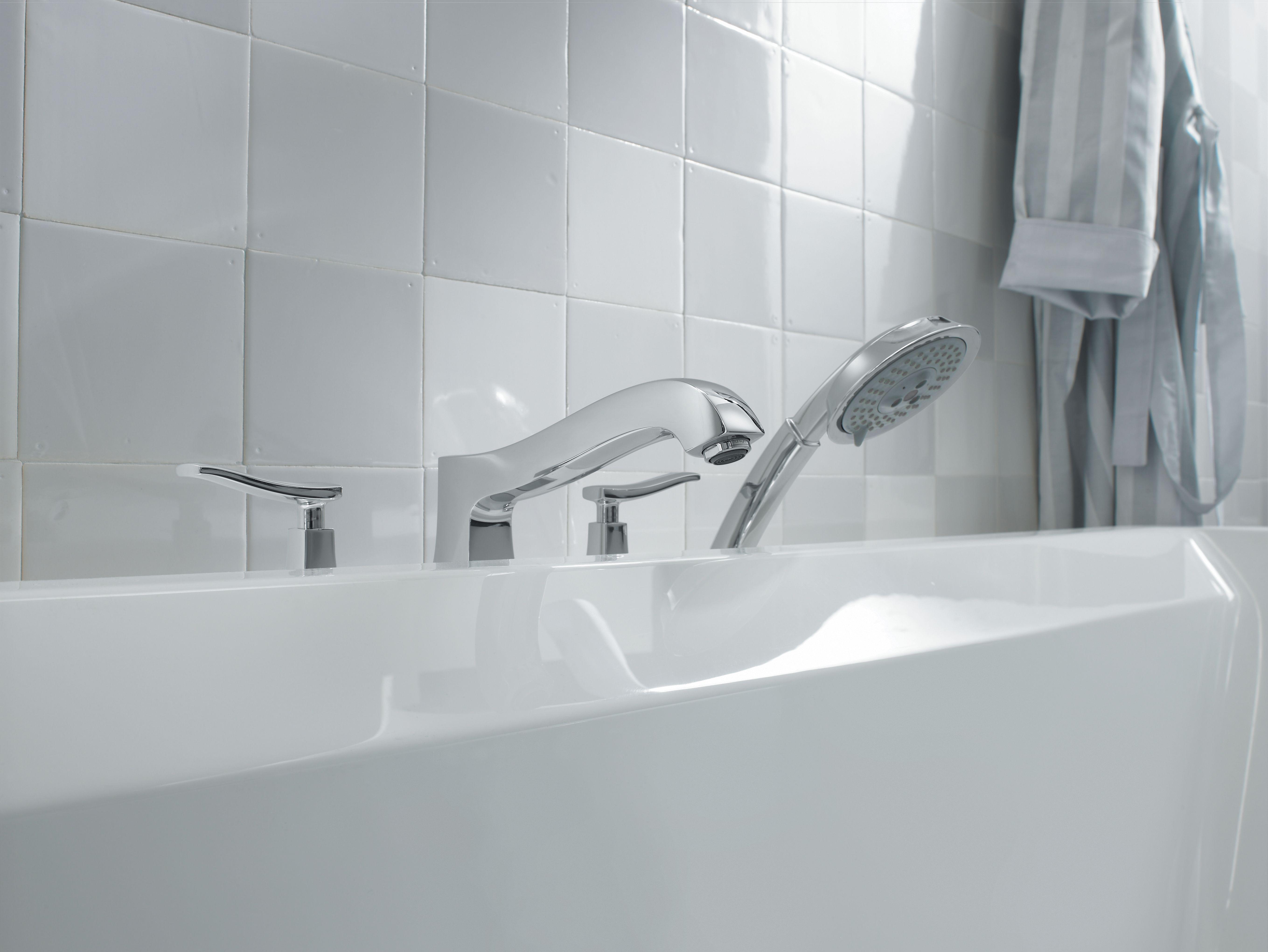 Hansgrohe 31314821 Brushed Nickel Metris C Roman Tub Filler Faucet ...