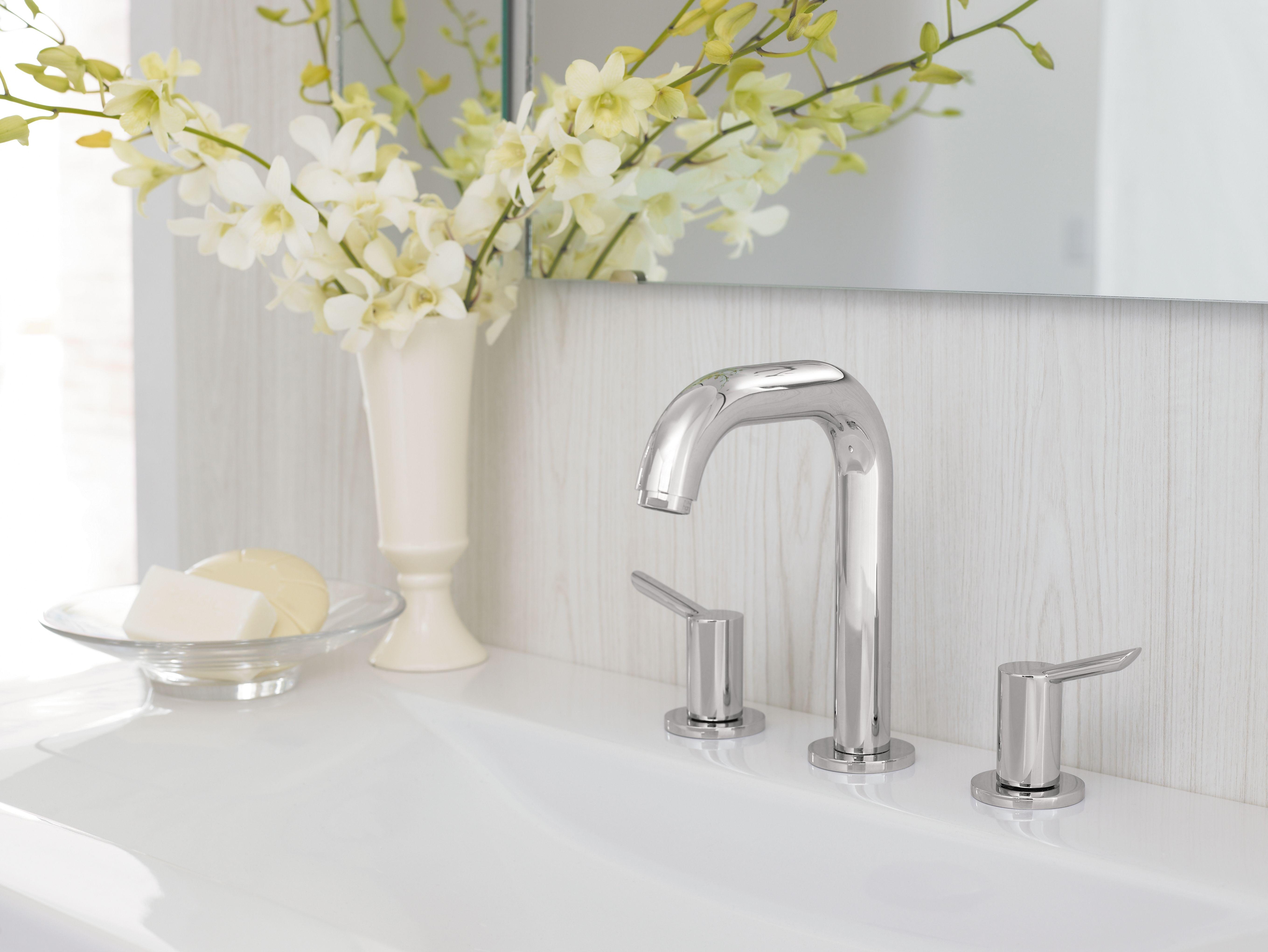 Hansgrohe 31701821 Brushed Nickel Focus S Single Hole Bathroom ...