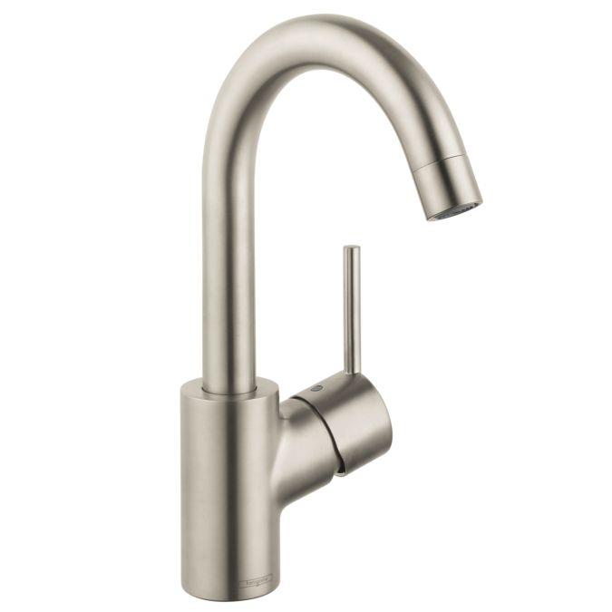 Hansgrohe 32070821 Brushed Nickel Talis S Single Hole Bathroom ...