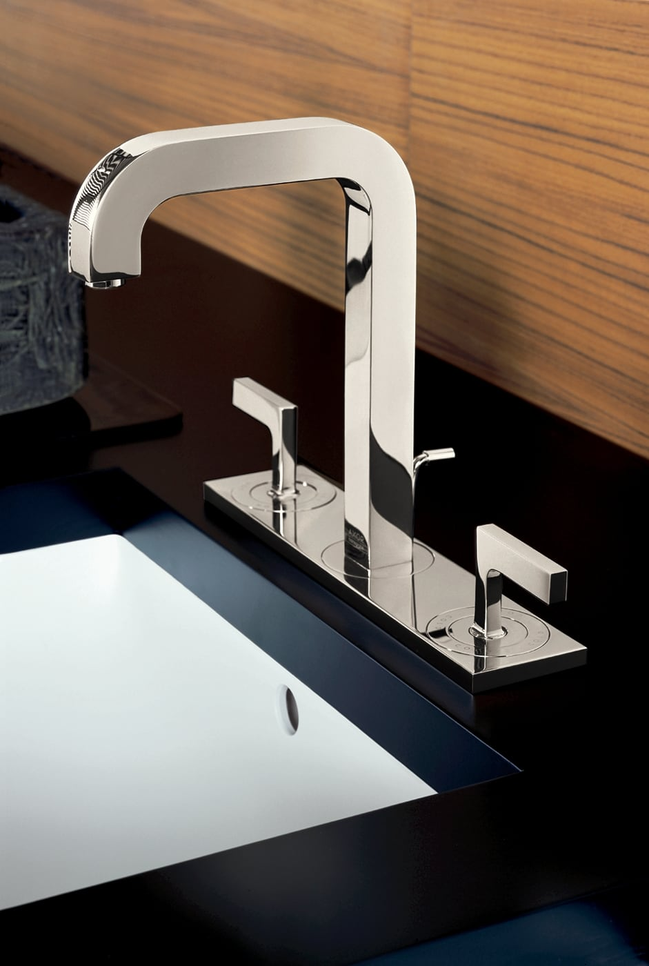 Hansgrohe 39136821 Brushed Nickel Axor Citterio Bathroom Faucet ...