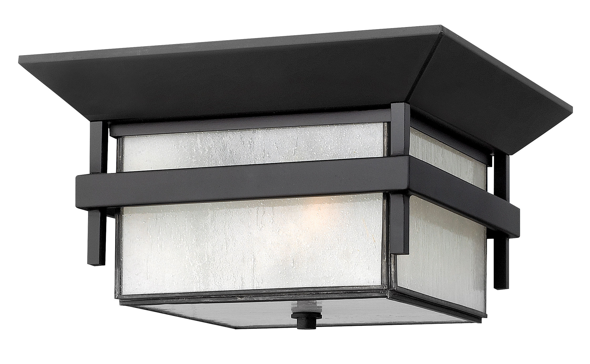 Hinkley lighting 2573sk satin black 2 light outdoor flush mount hinkley lighting 2573sk satin black 2 light outdoor flush mount ceiling fixture from the harbor collection mozeypictures Images