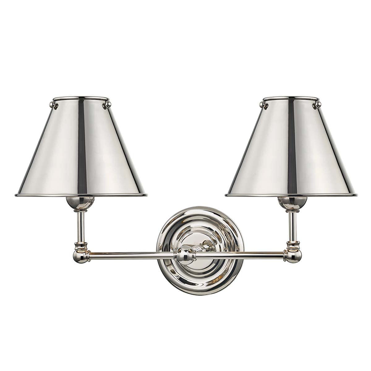 Hudson Valley Lighting Mds102 Agb Ms Aged Brass Classic No 1 2 Light 11 Tall Wall Sconce Faucetdirect Com