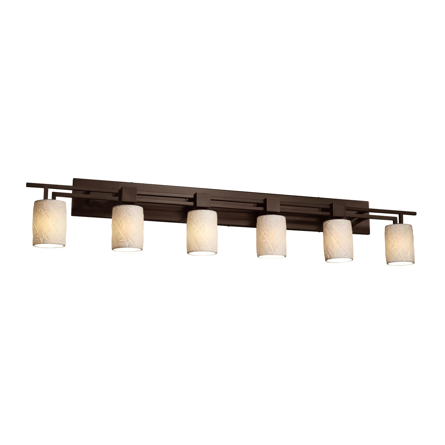 Justice Design Group Por 8706 10 Banl Dbrz Limoges 56 Bathroom Vanity Light