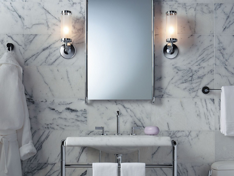 Kallista P74053-00-CP Polished Chrome One Framed Wall Mirror ...