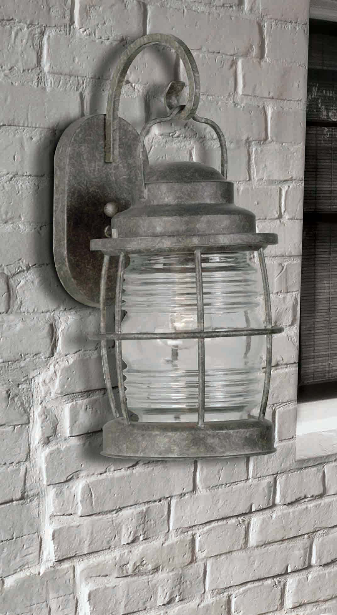 Kenroy Home FL Flint Beacon 1 Light Outdoor Wall Sconce