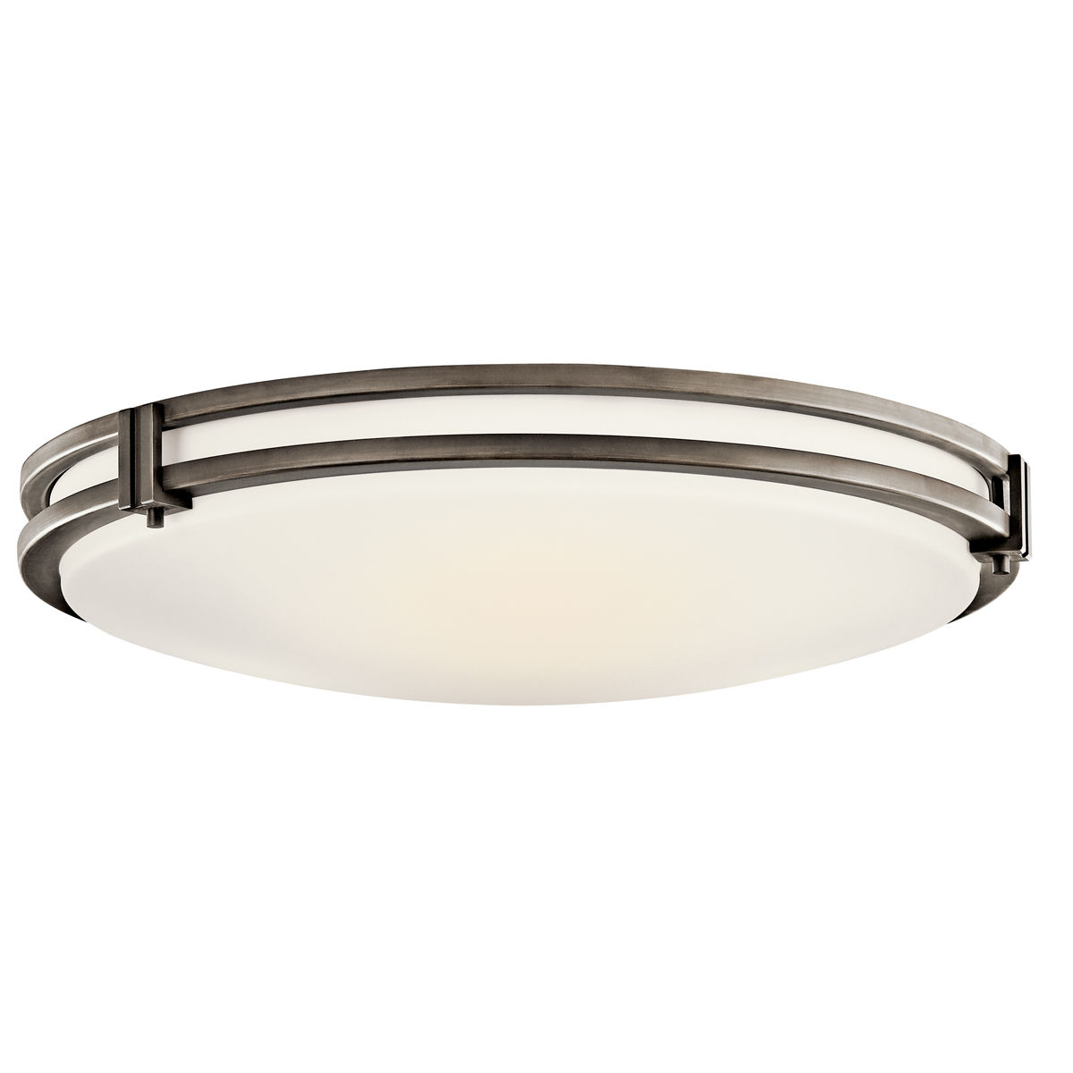 square dimmable hampton bay bright in ceiling light led flushmount mount nickel p fixture flush lights white brushed