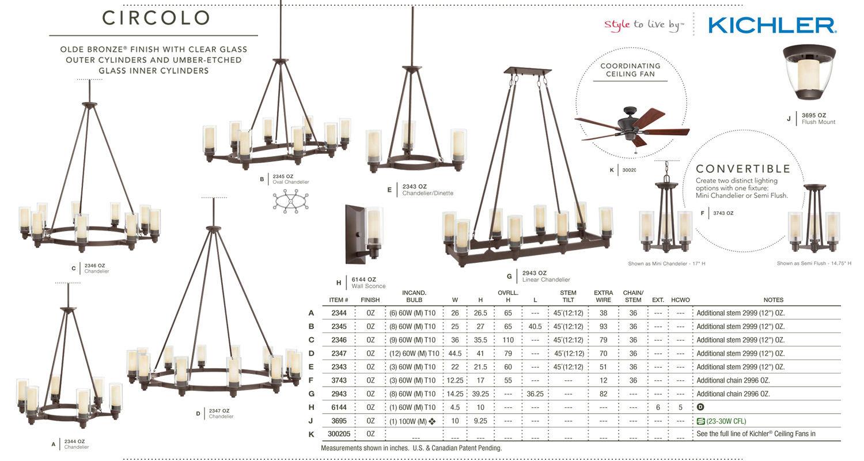 kichler 2347ni brushed nickel circolo 12 light 45 wide chandelier