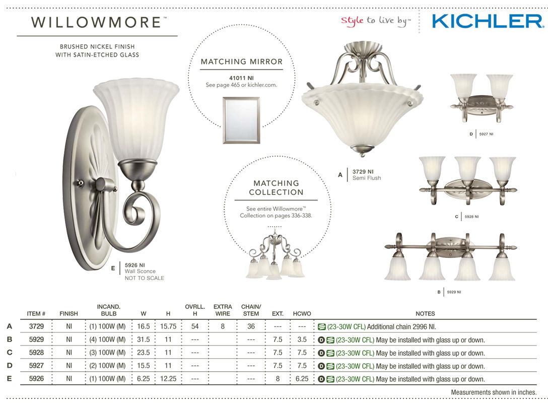 Kichler 5927tz Tannery Bronze Willowmore 155 Wide 2 Bulb Bathroom Wiring Diagram Lighting Fixture