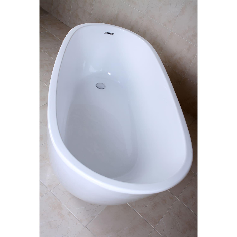 Kingston Brass VTRS592928 White Aqua Eden 59-1/16\