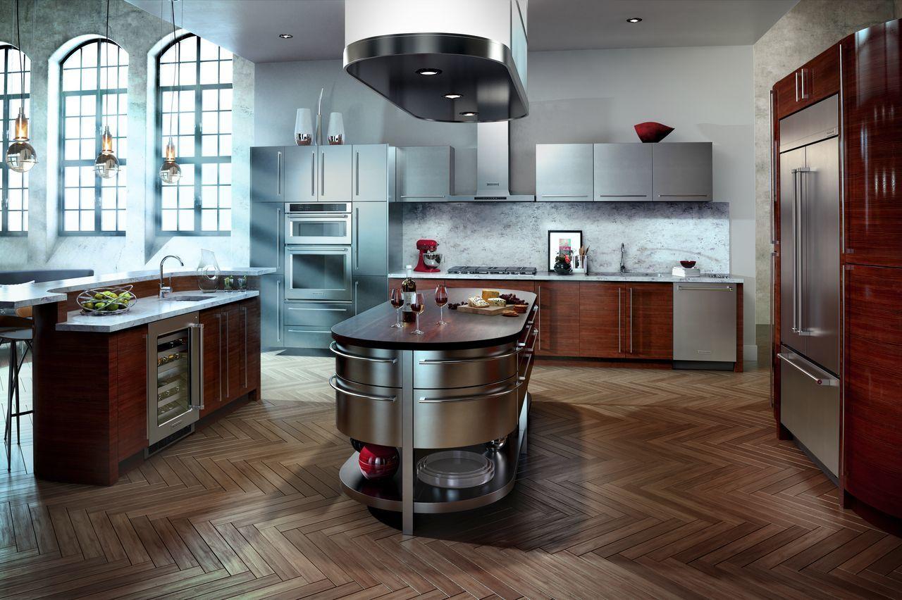 KitchenAid French Door Refrigerators - KBFN502E