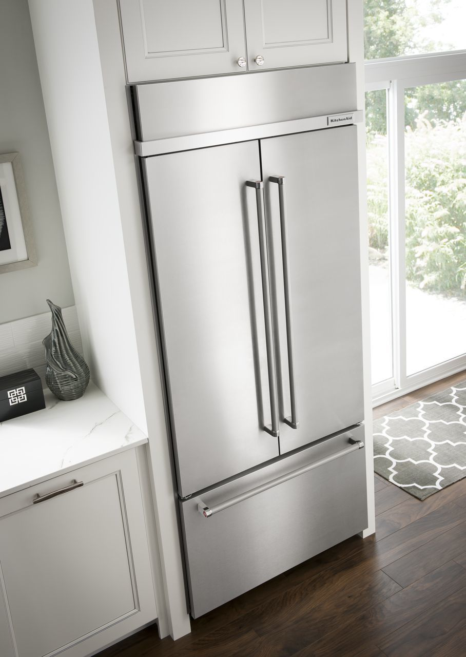 the kitchenaid how your youtube to pantry aligning watch refrigerator door aid cameo five on horizontally kitchen drawers