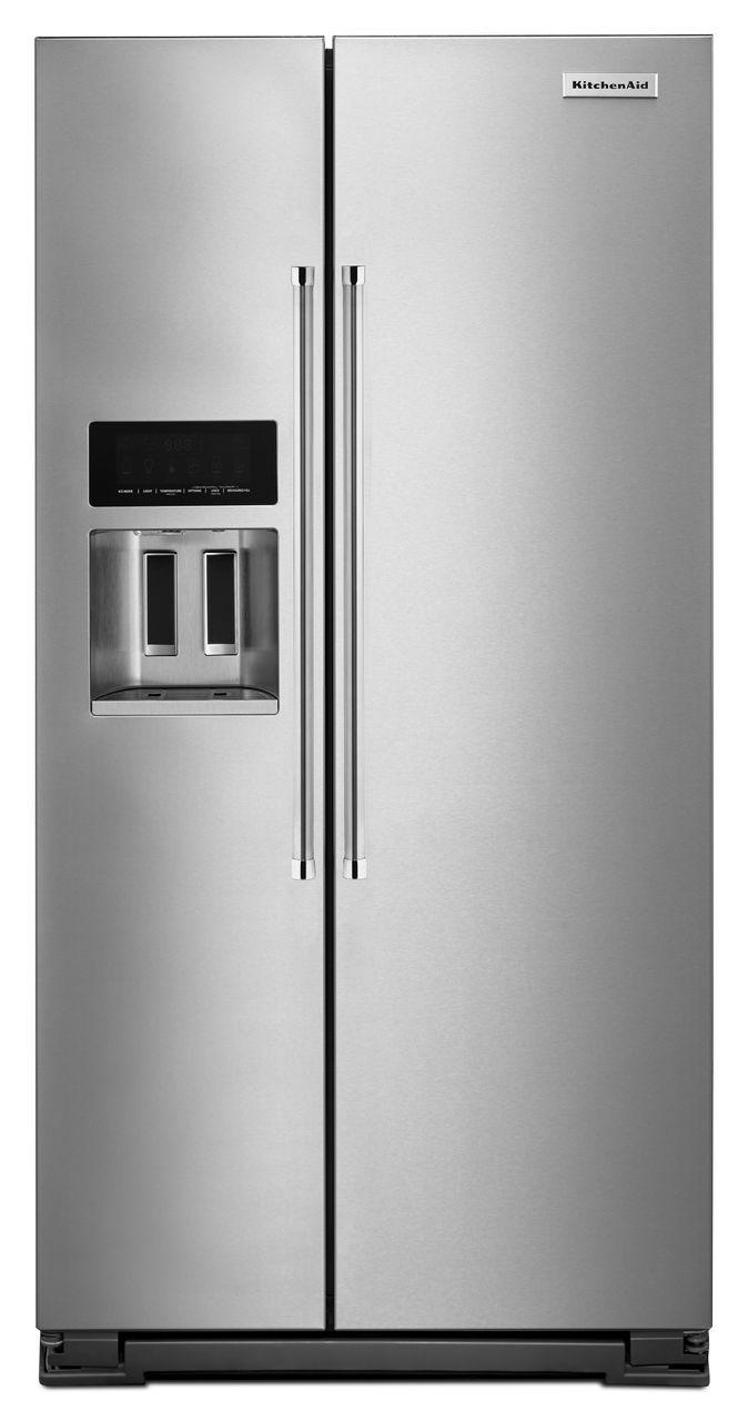 Kitchenaid Refrigerator White kitchenaid krsc500e - build