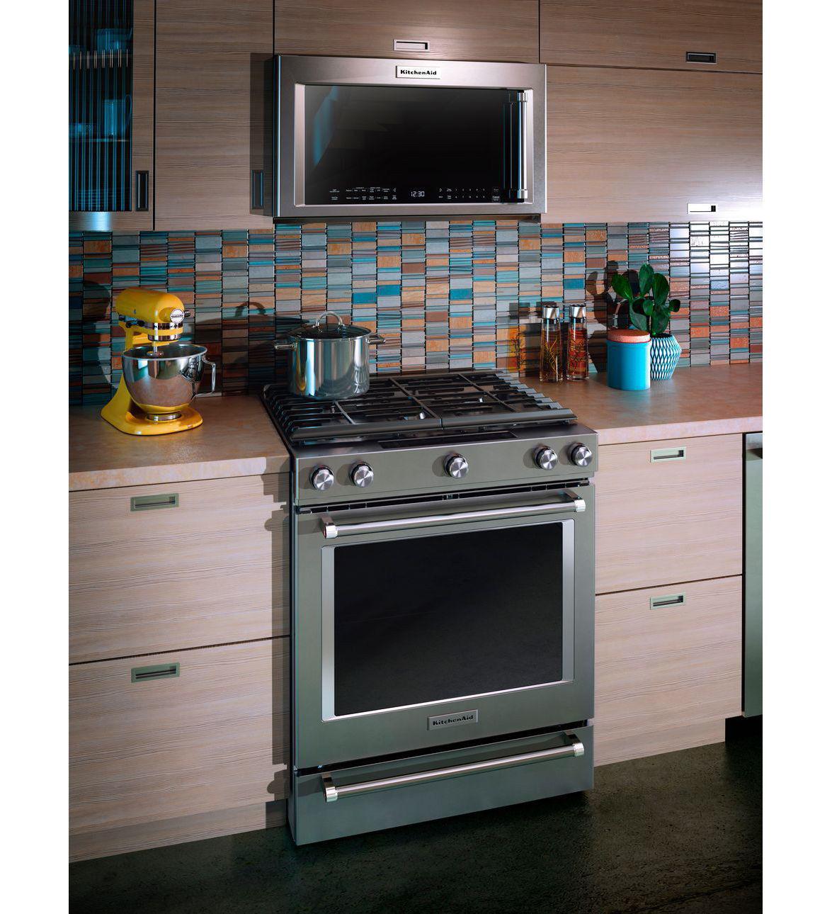 Kitchenaid Slide In Ranges Ksdb900e