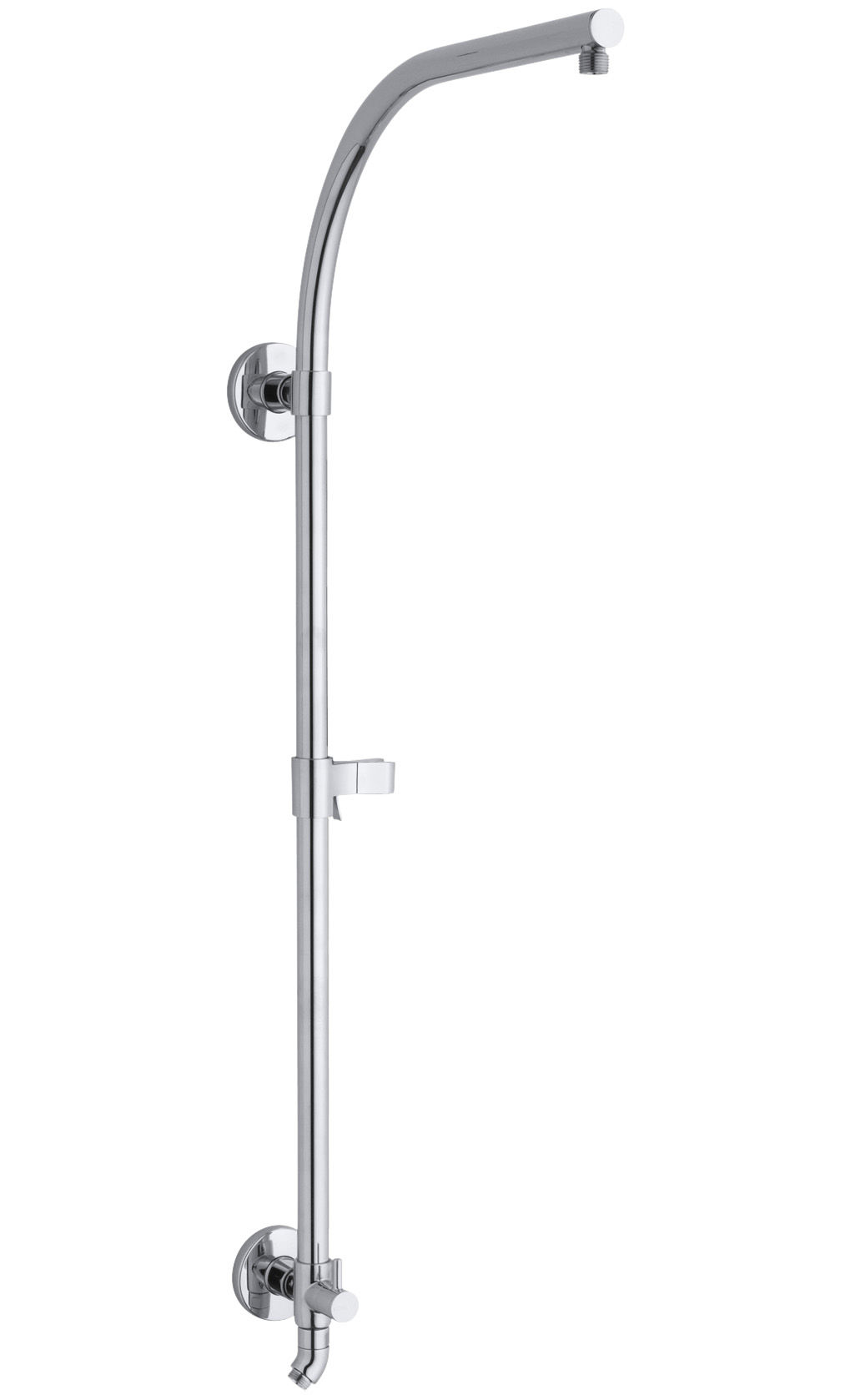 Kohler Hydrorail K 13695 14788 Cp Package Polished Chrome Shift Active Exposed Bath And Shower Faucet With Single Function Head Multi Hand