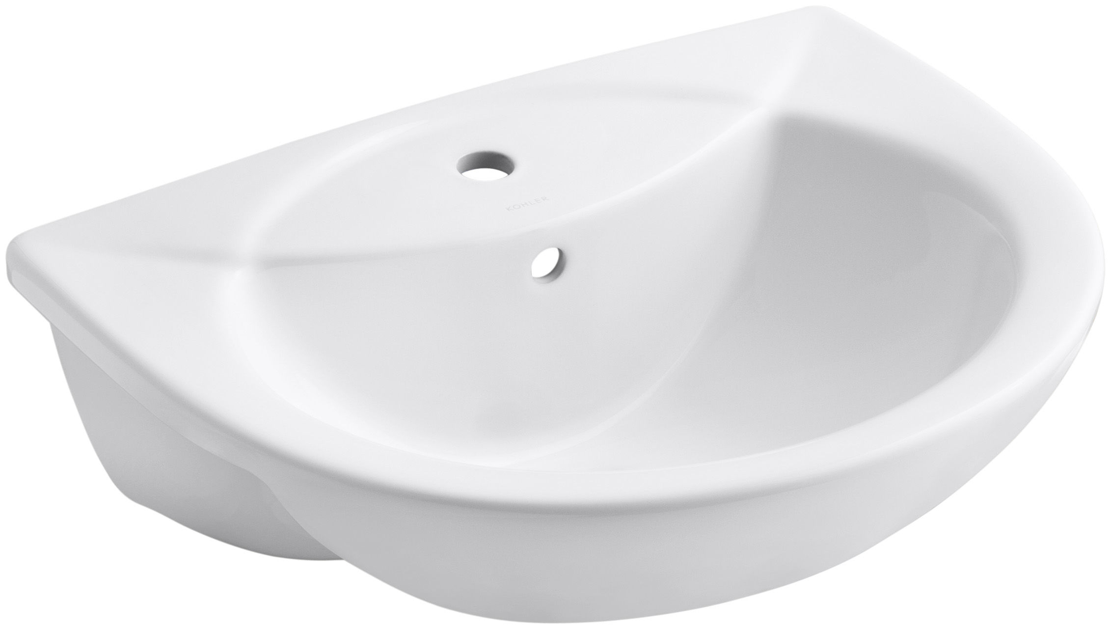 Kohler K-11160-1-0 White Odeon 18-1/2\