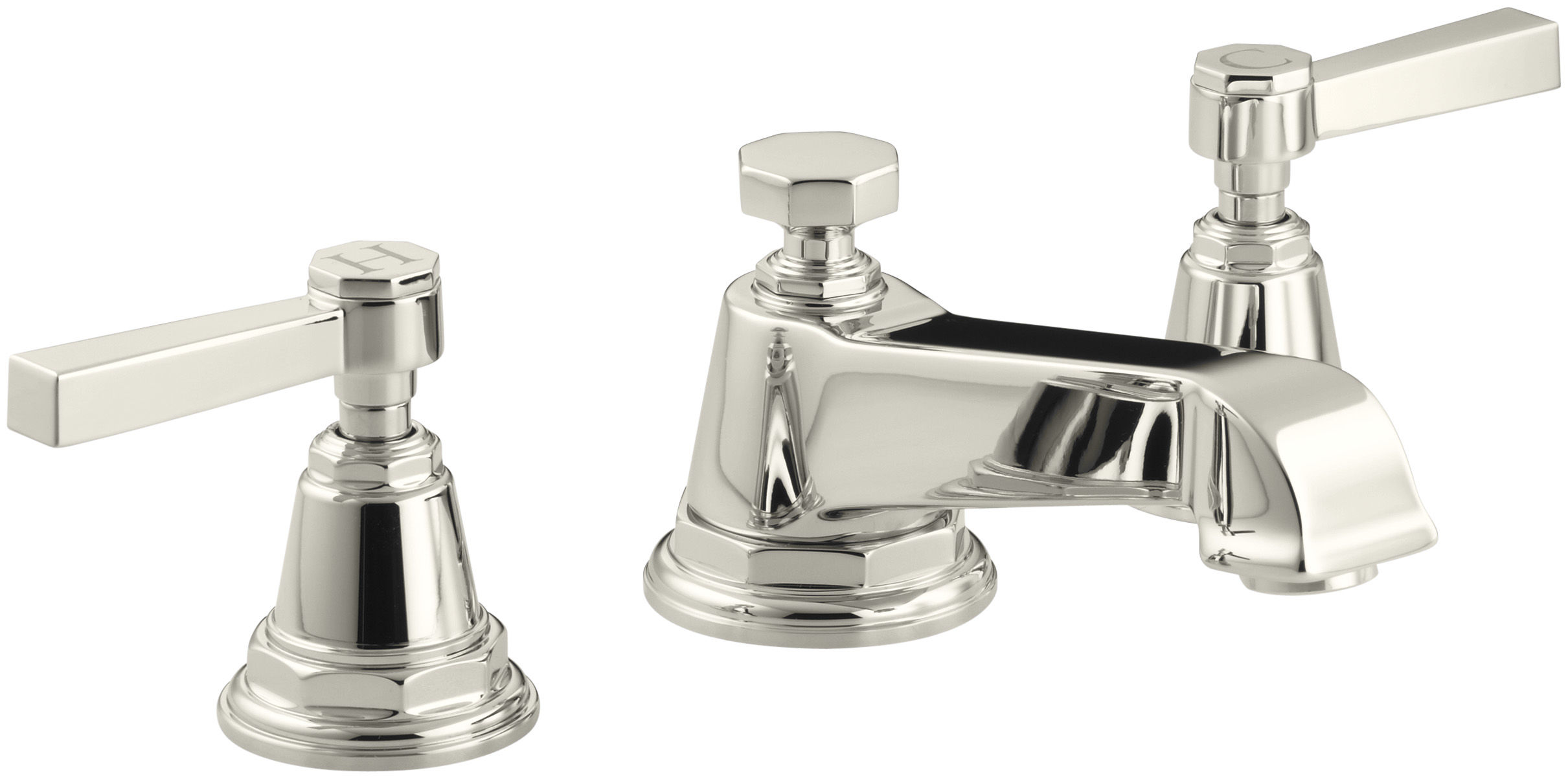 Kohler lavatory faucets Widespread Kohler K131324acp Faucet Direct Kohler K131324acp Polished Chrome Double Handle Widespread