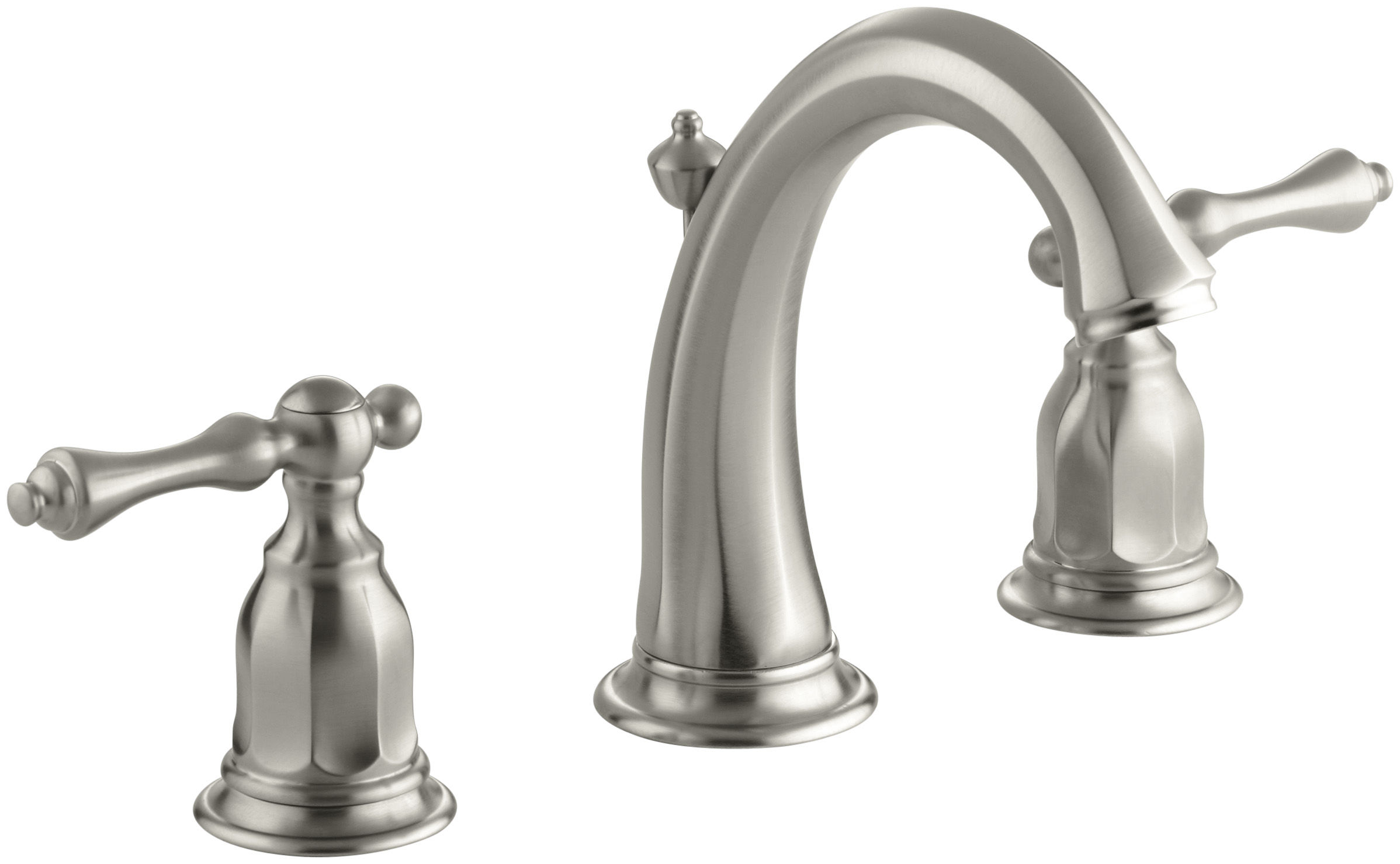 faucet out hole silver kitchen gooseneck pull nickel polished single brass sink handle p bathroom faucets brushed best