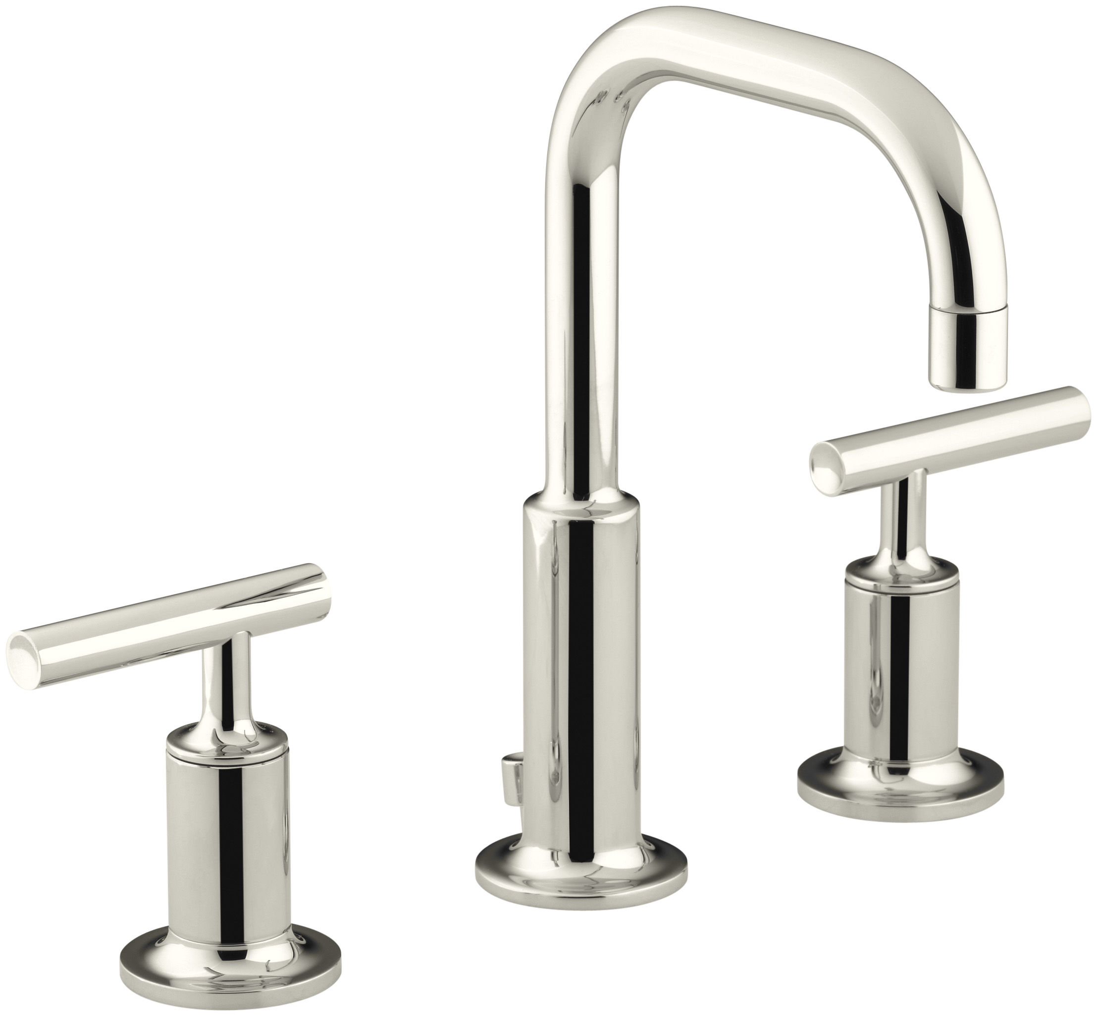 Kohler K-14406-4-CP Polished Chrome Purist Widespread Bathroom ...